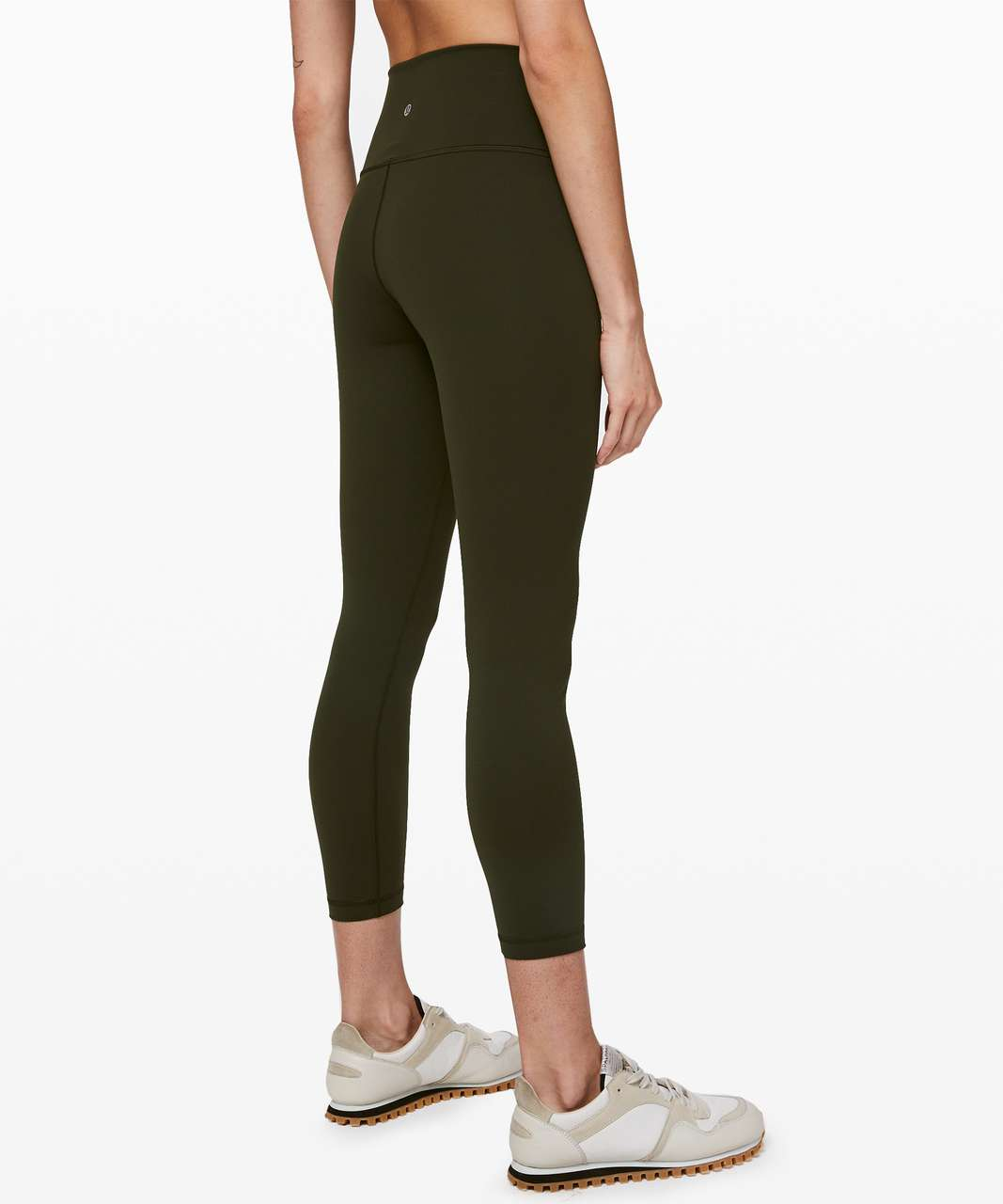 "Lululemon Wunder Under High-Rise Tight 25"" *Full-On Luxtreme - Dark Olive (First Release)"