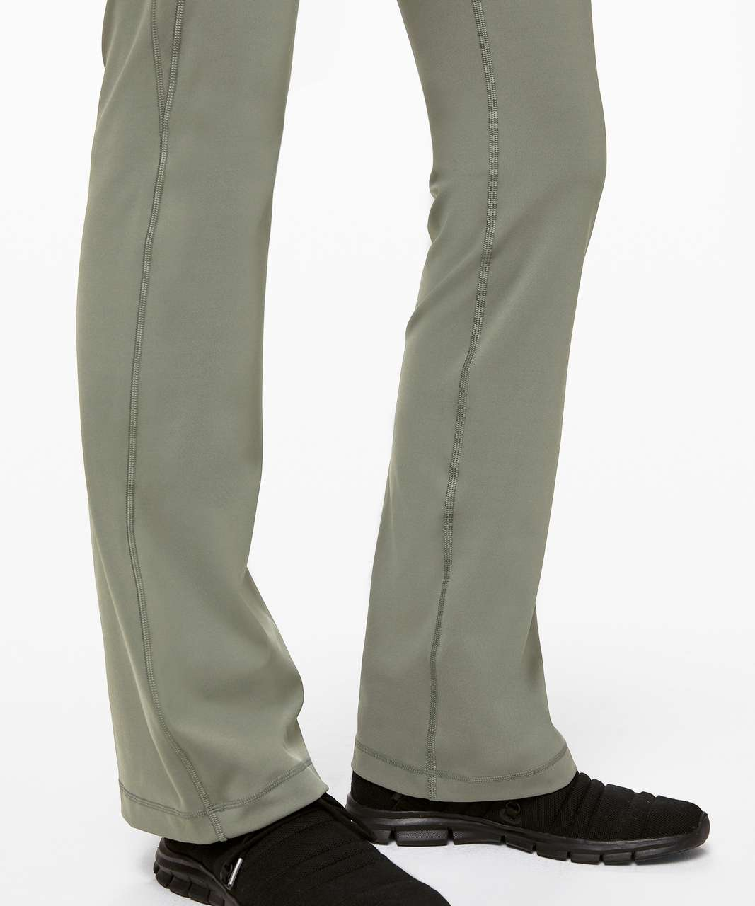 "Lululemon Groove Pant Bootcut 32"" Full-On Luxtreme - Grey Sage"