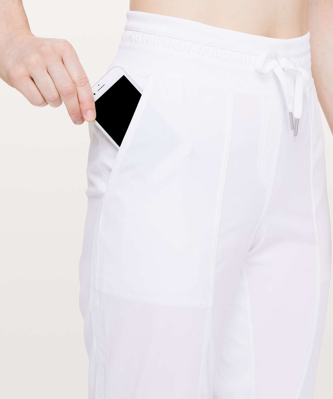 "Lululemon Dance Studio Crop *25"" - White (First Release)"
