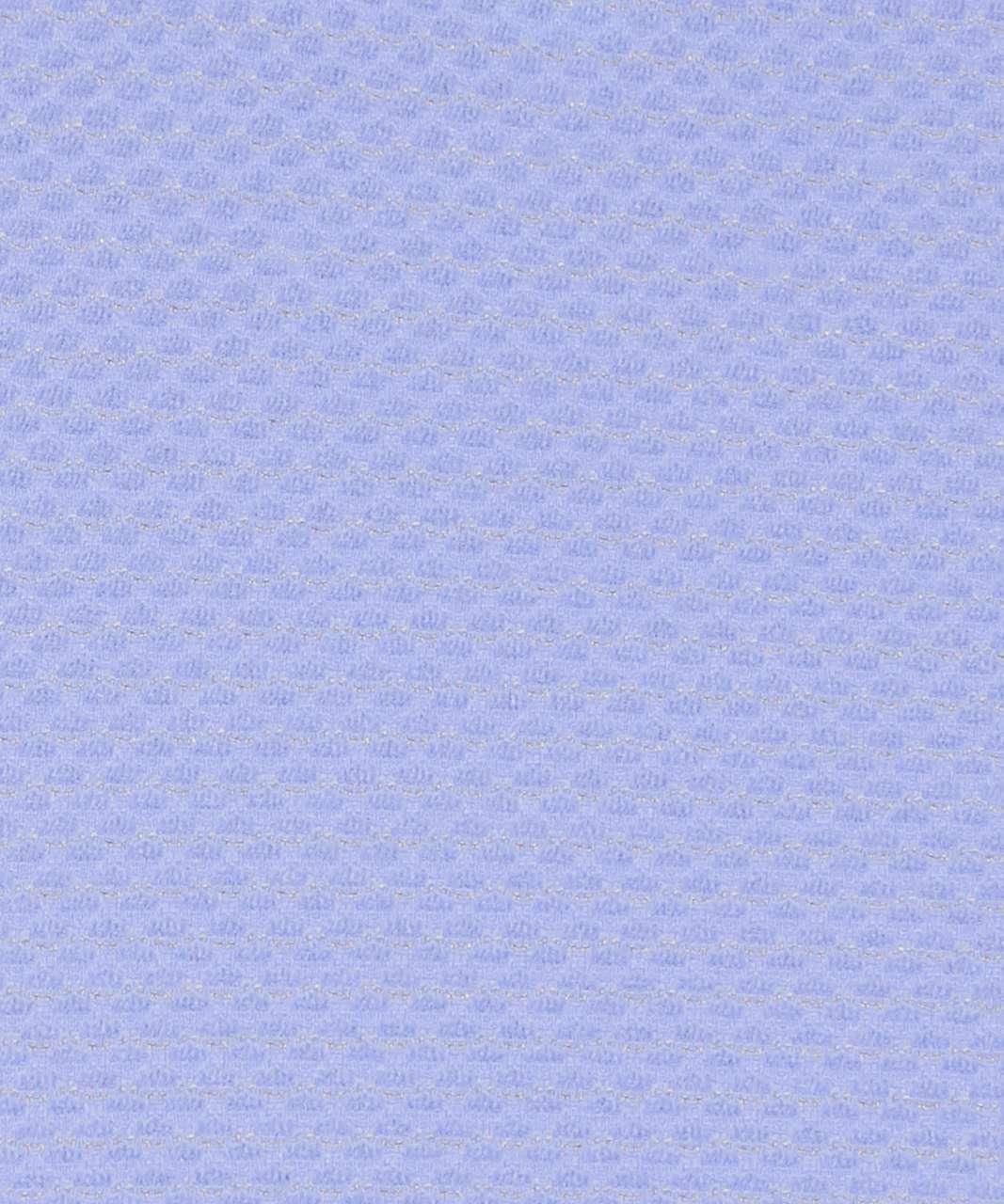 Lululemon Essential Tank *Scallop Texture - Hydrangea Blue