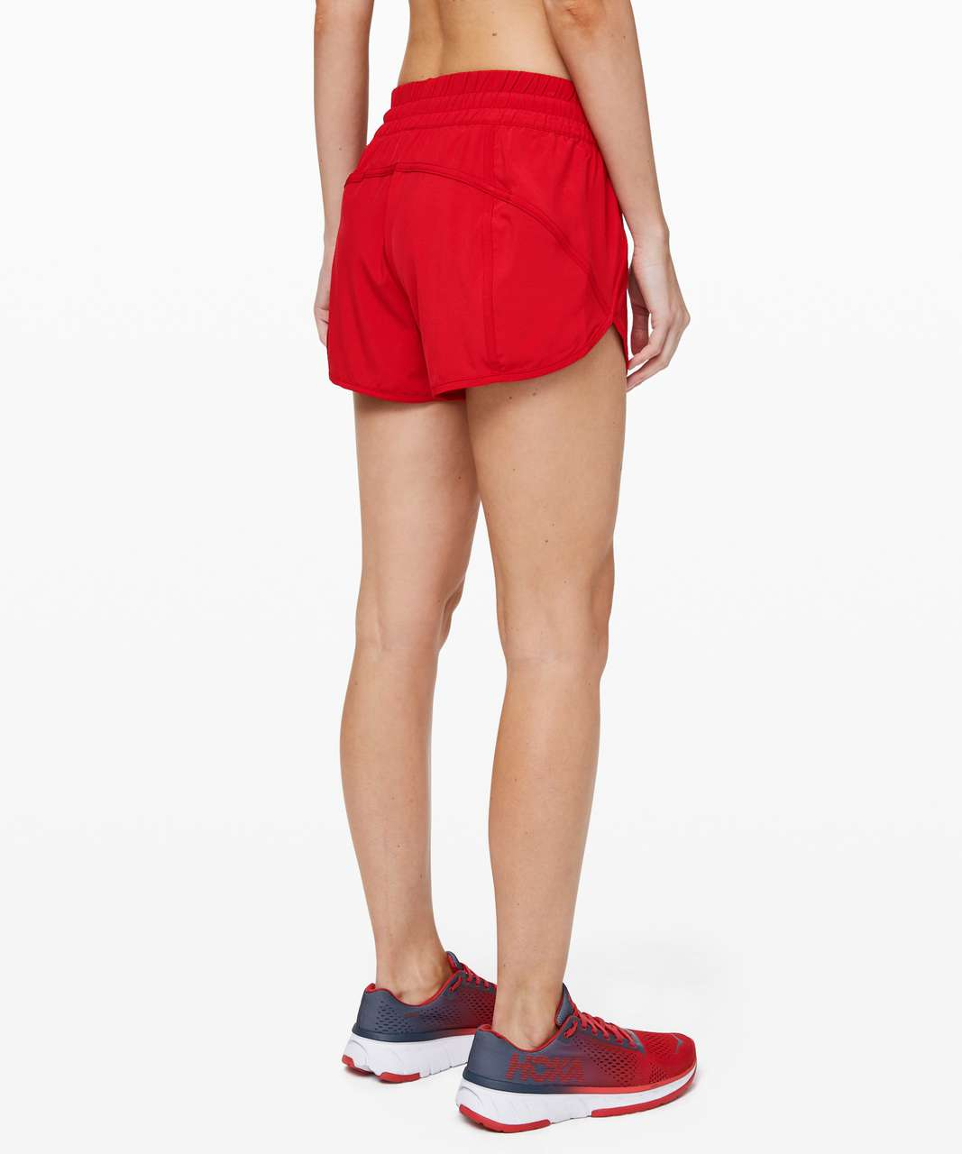 "Lululemon Tracker Short V *4"" - Flamenco Red"