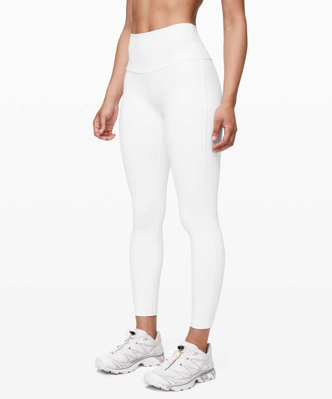 "Lululemon Wunder Under High-Rise Tight 25"" *Full-On Luxtreme - White"