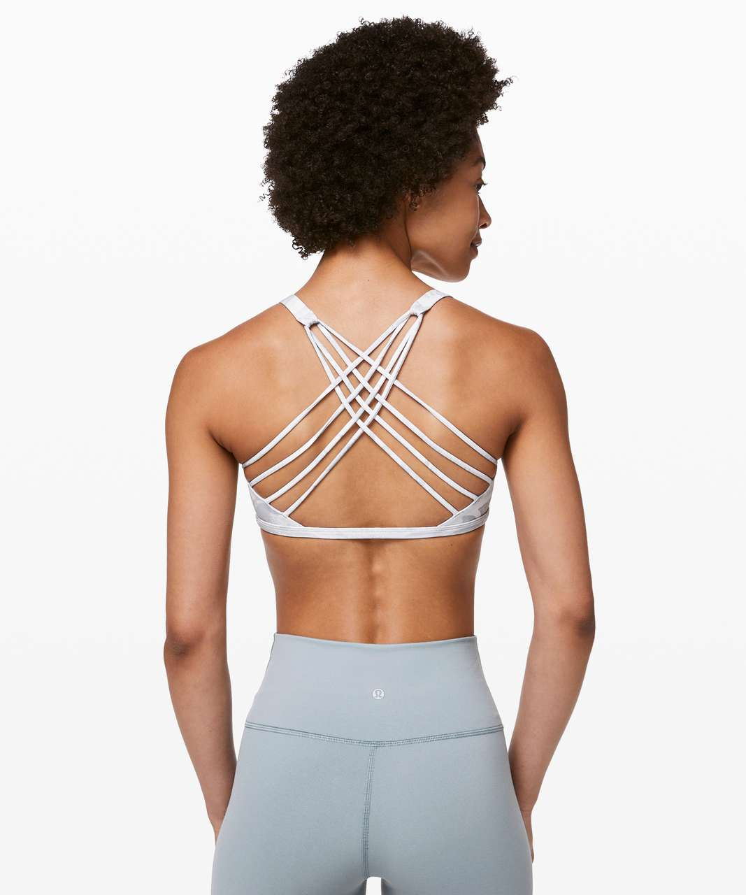 Lululemon Free To Be Bra (Wild) - Tropical Shadow Starlight Multi