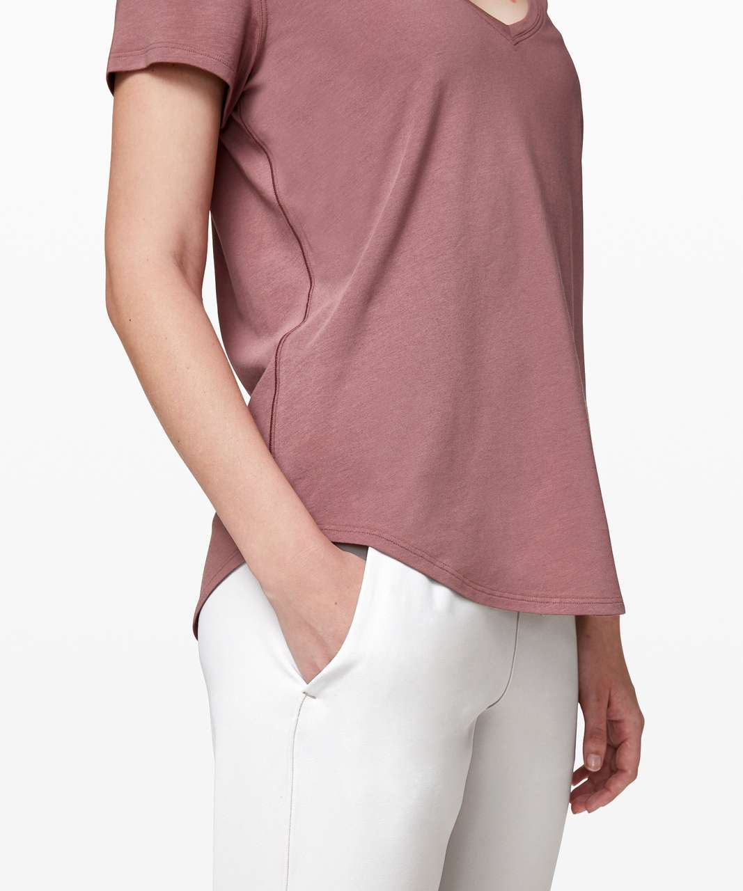 Lululemon Love Tee V - Red Dust