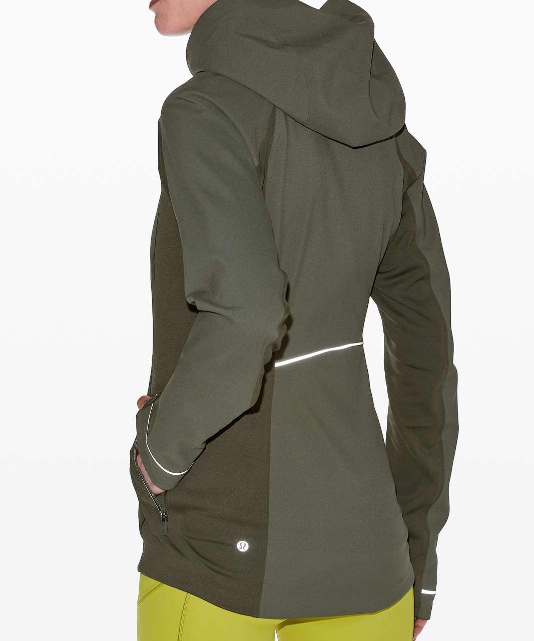 Lululemon Cross Chill Jacket - Dark Olive