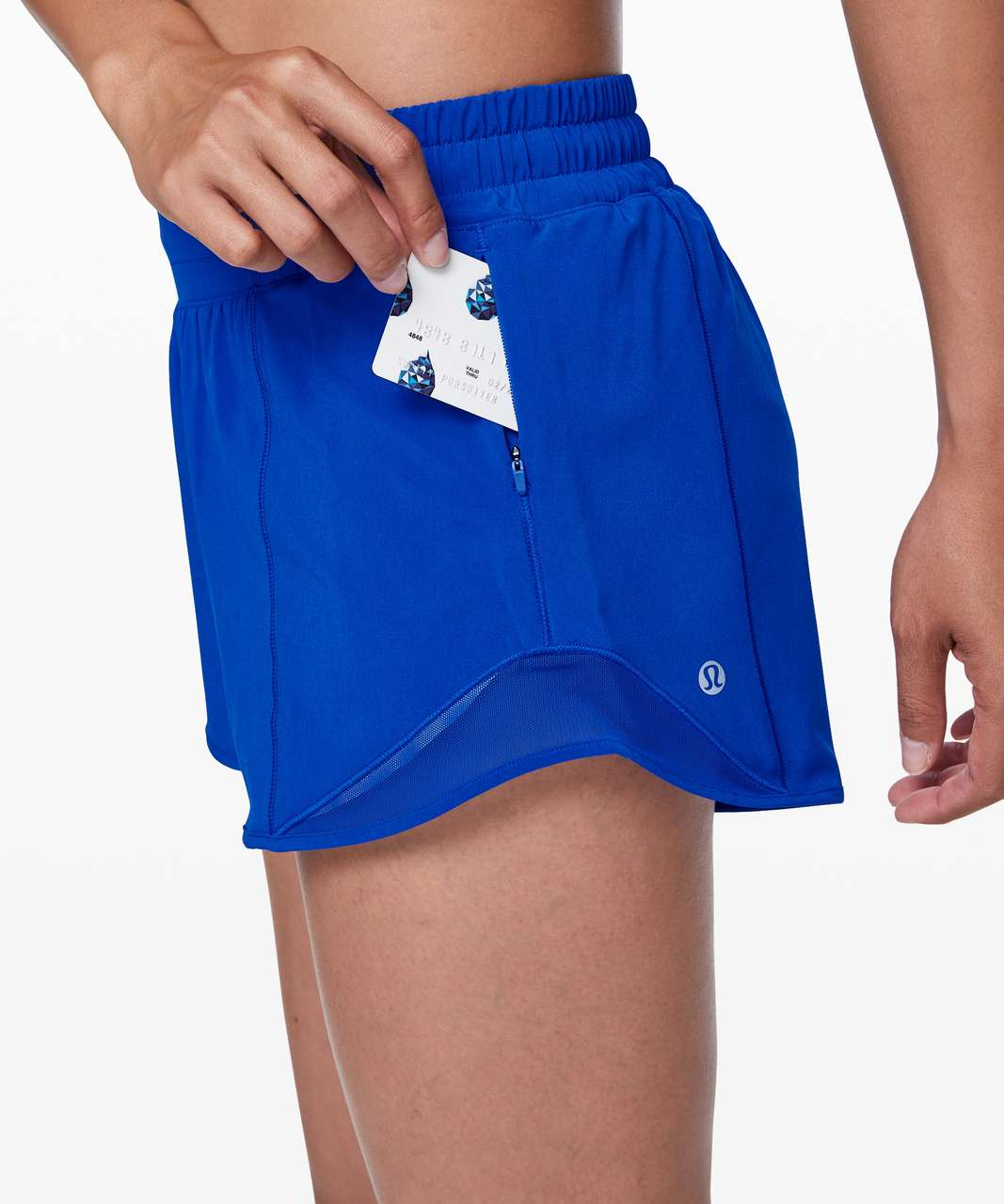 "Lululemon Hotty Hot Short II *Long 4"" - Jet Stream"