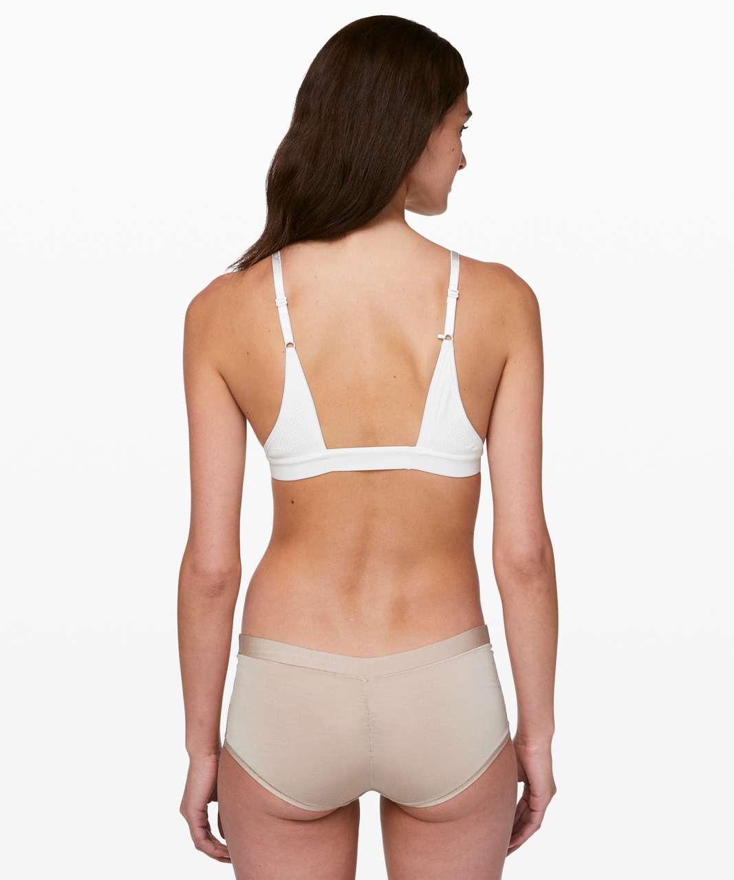 Lululemon Uncover Me Bralette - White / White