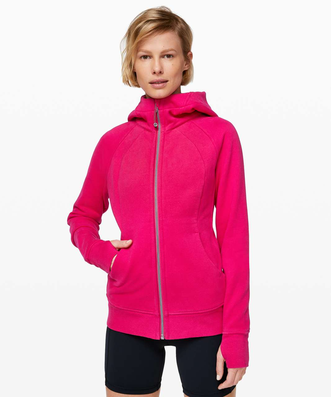 Lululemon Scuba Hoodie *Light Cotton Fleece - Calypso Pink