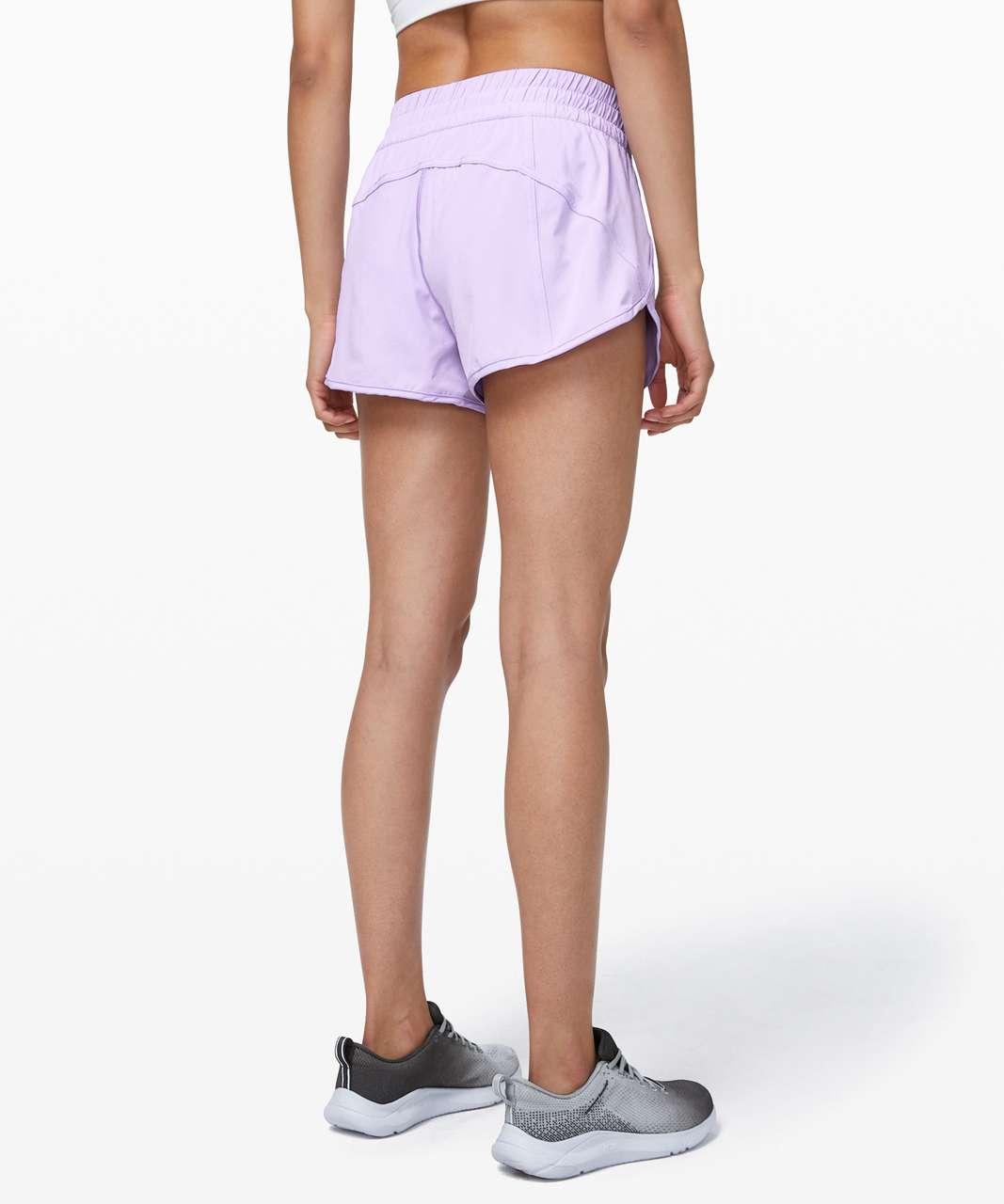 """Lululemon Tracker Short V *4"""" - Sheer Violet"""