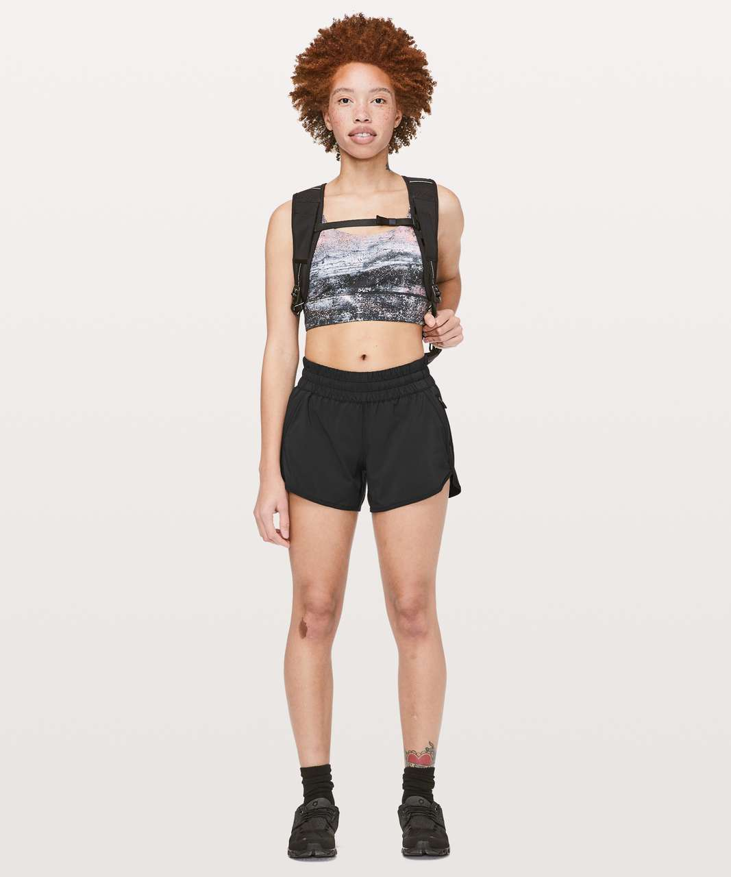 "Lululemon Tracker Short V *4"" - Black (Third Release)"