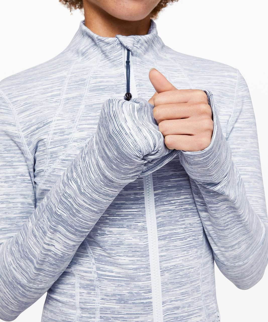 Lululemon Define Jacket - Wee Are From Space Sheer Blue Chambray