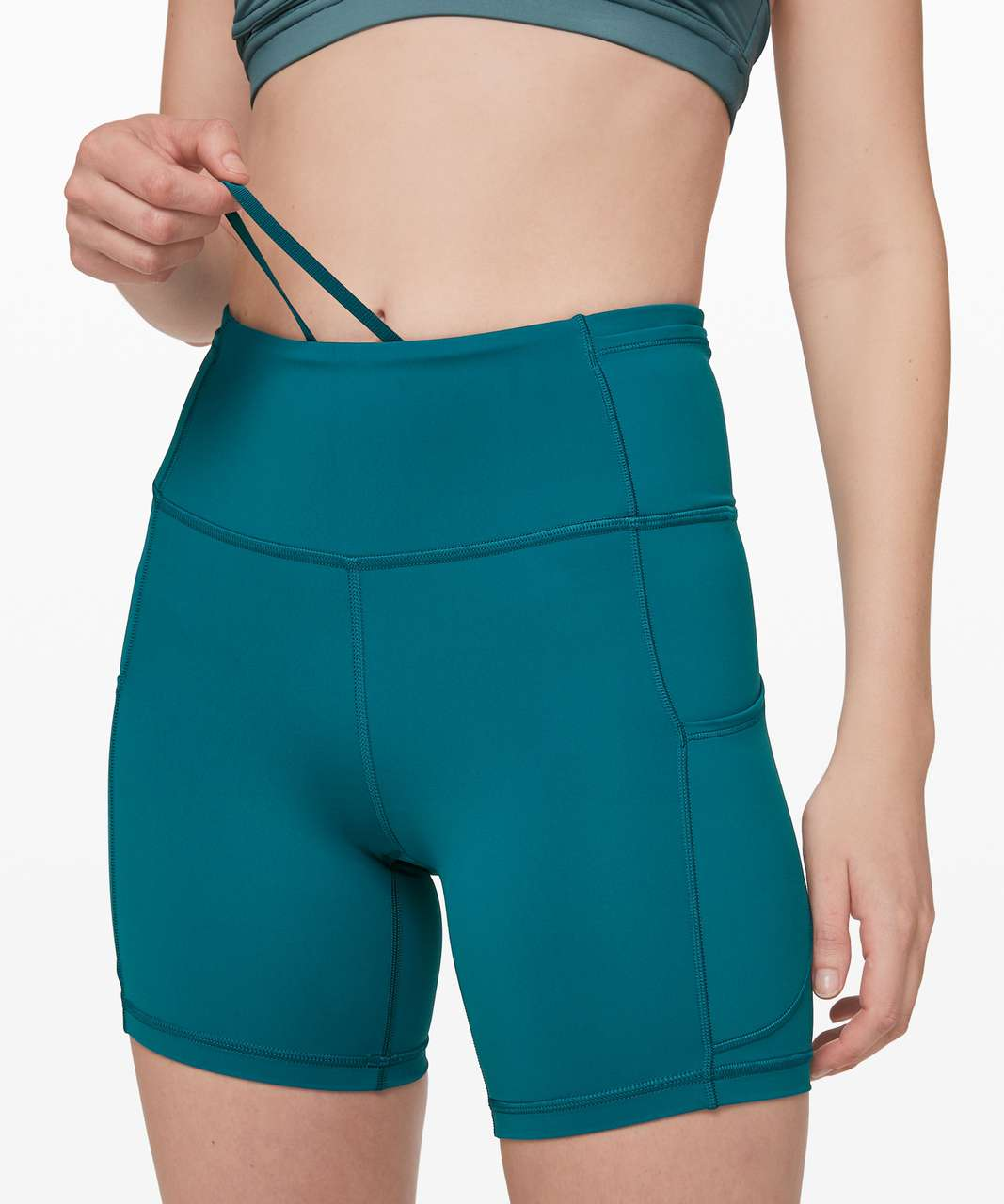 """Lululemon Fast And Free Short 6"""" *Non-Reflective - Cyprus"""