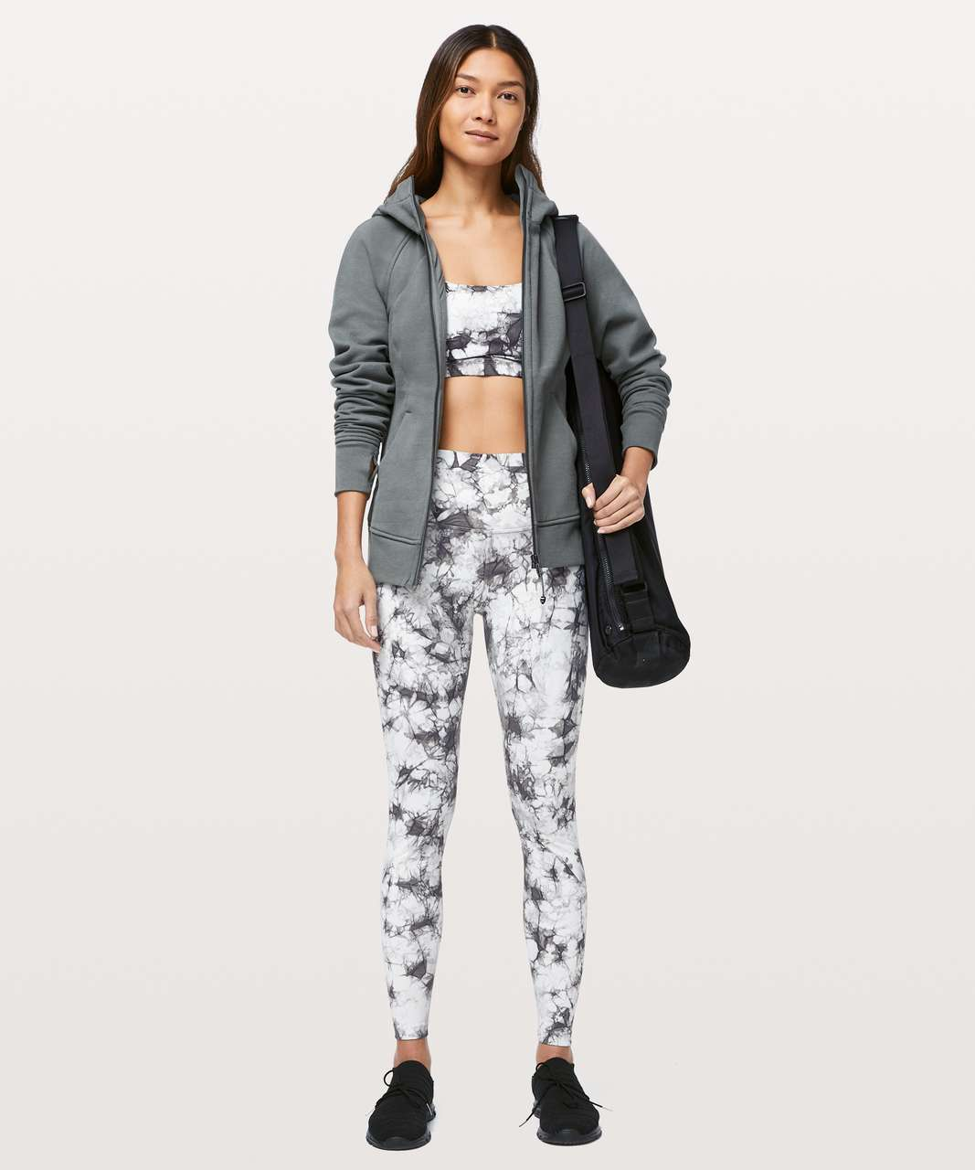 "Lululemon Wunder Under High-Rise Tight *Dual Shibori Full-On Luxtreme 28"" - Dual Shibori Antique White Baltic Grey"