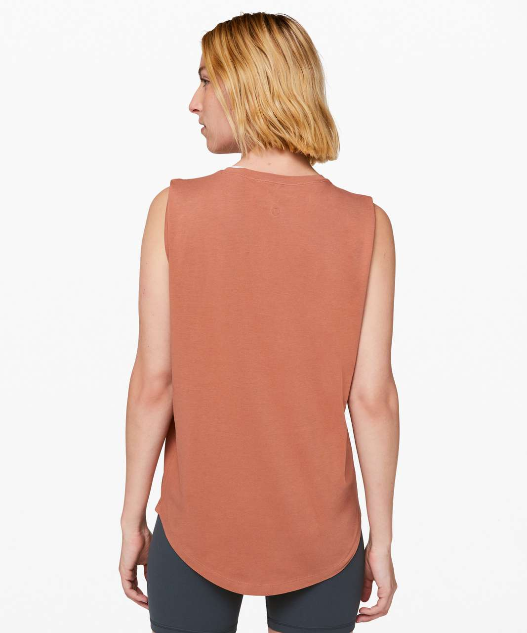 Lululemon Brunswick Muscle Tank - Canyon Rock