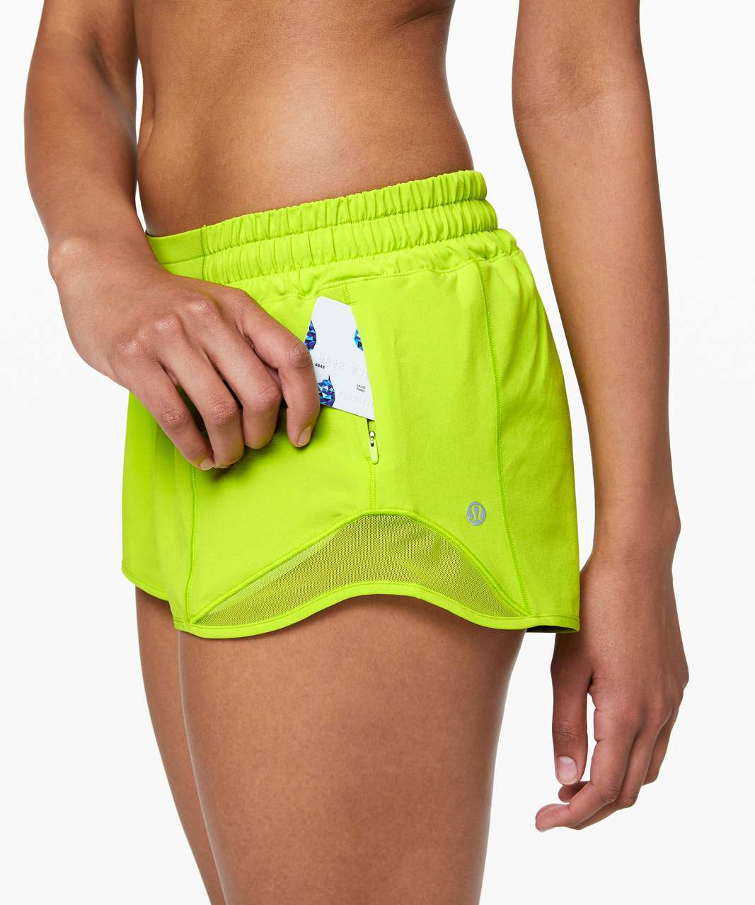 "Lululemon Hotty Hot Short II *2.5"" - Lime Pop"