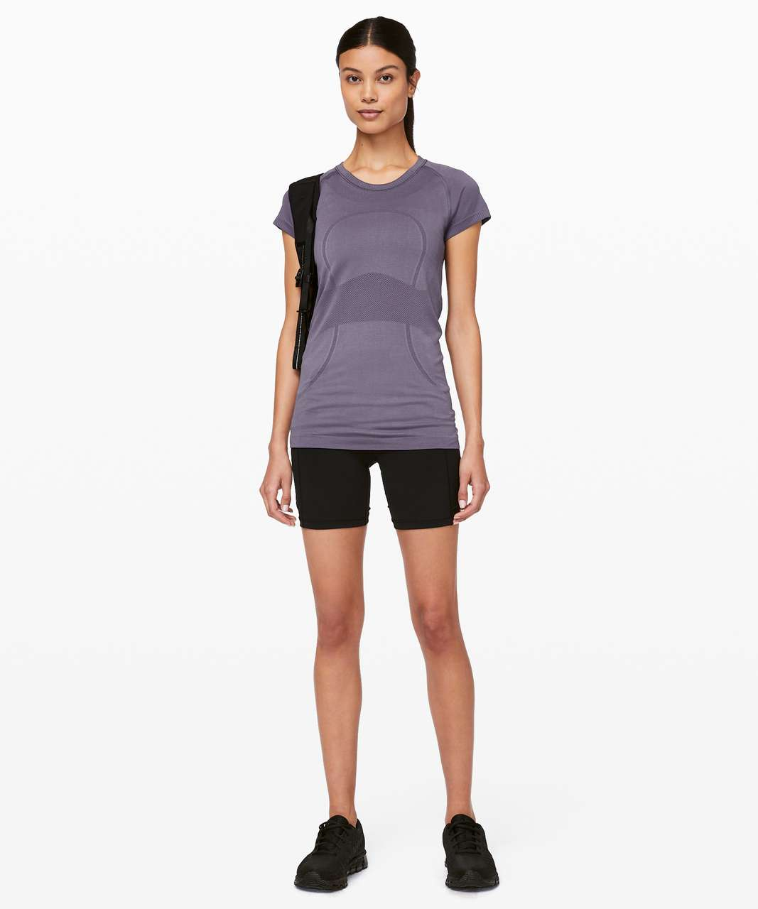 Lululemon Swiftly Tech Short Sleeve Crew - Grape Mist / Grape Mist