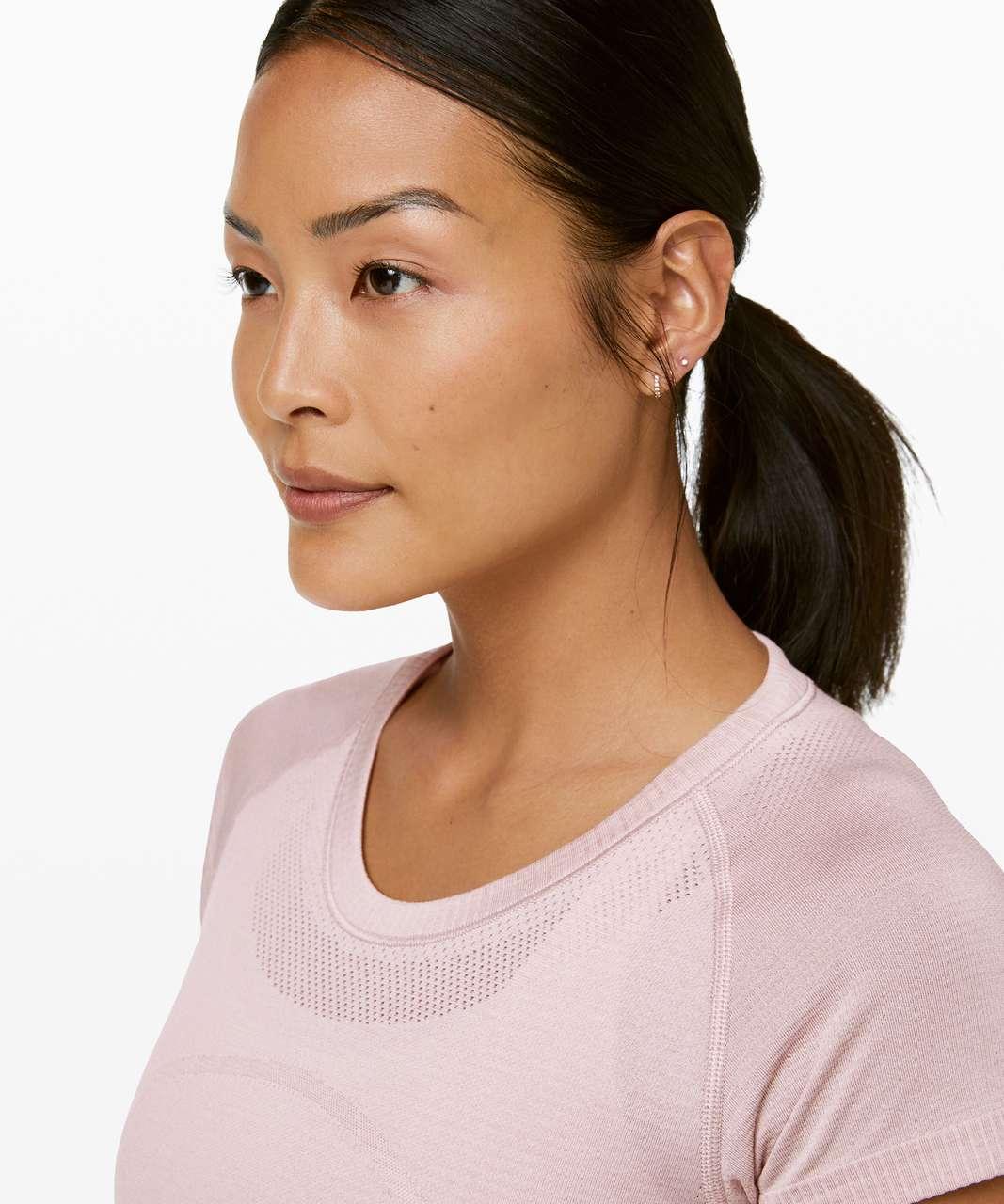 Lululemon Swiftly Tech Short Sleeve Crew - Pink Bliss / Pink Bliss