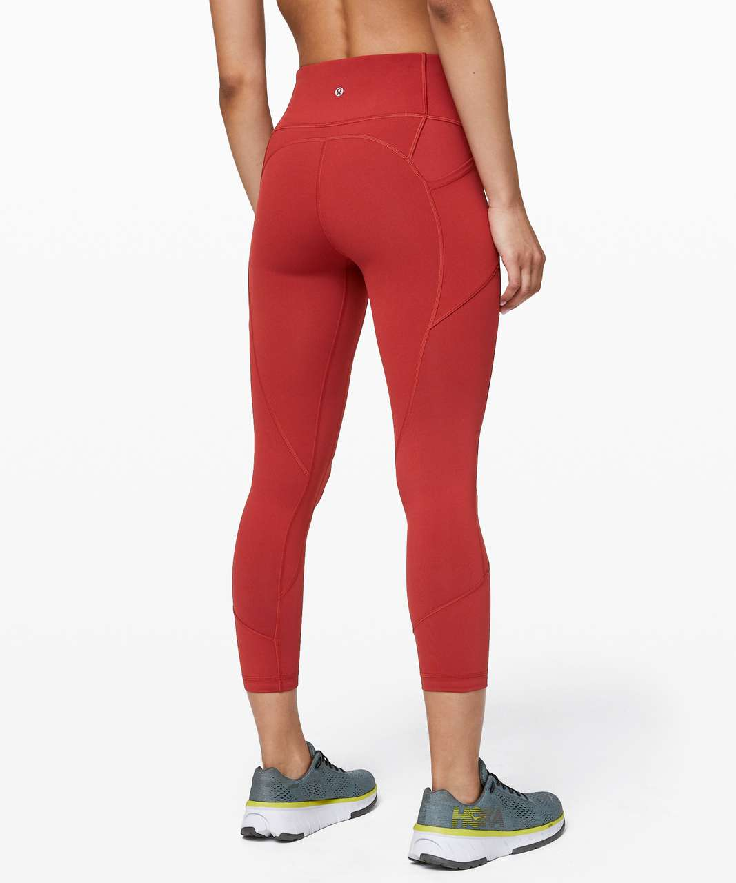 """Lululemon All The Right Places Crop II *23"""" - Cayenne"""