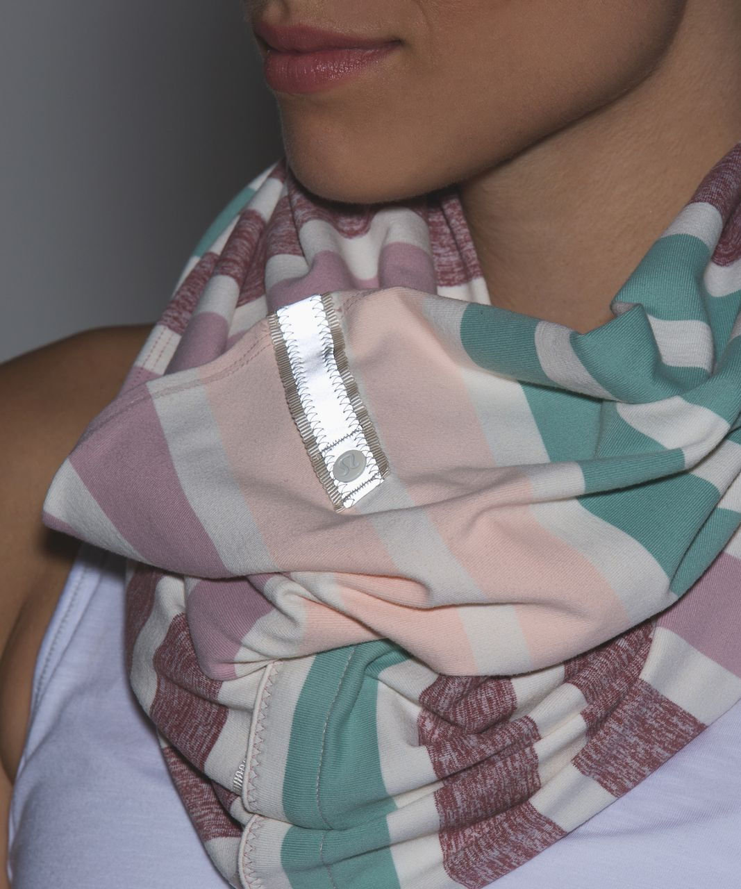Lululemon Vinyasa Scarf - Triplet Twin Stripe Heathered Angel Wing Multi (First Release)