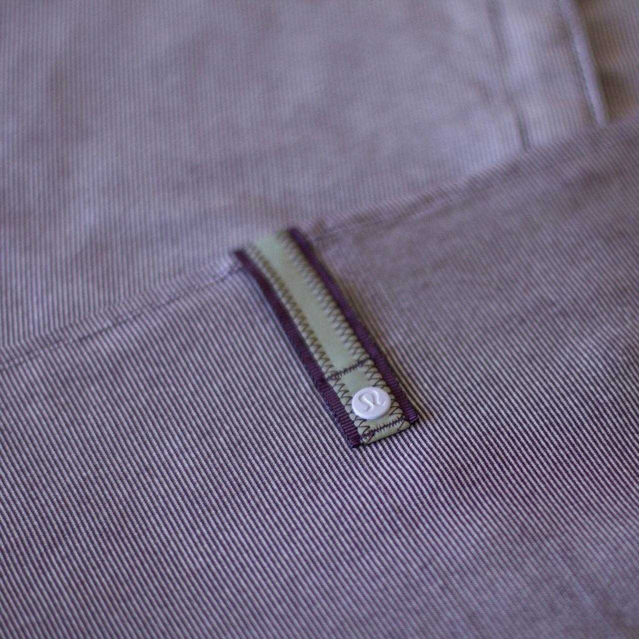 Lululemon Vinyasa Scarf - Wee Stripe Lilac Deep Zinfandel / Deep Zinfandel