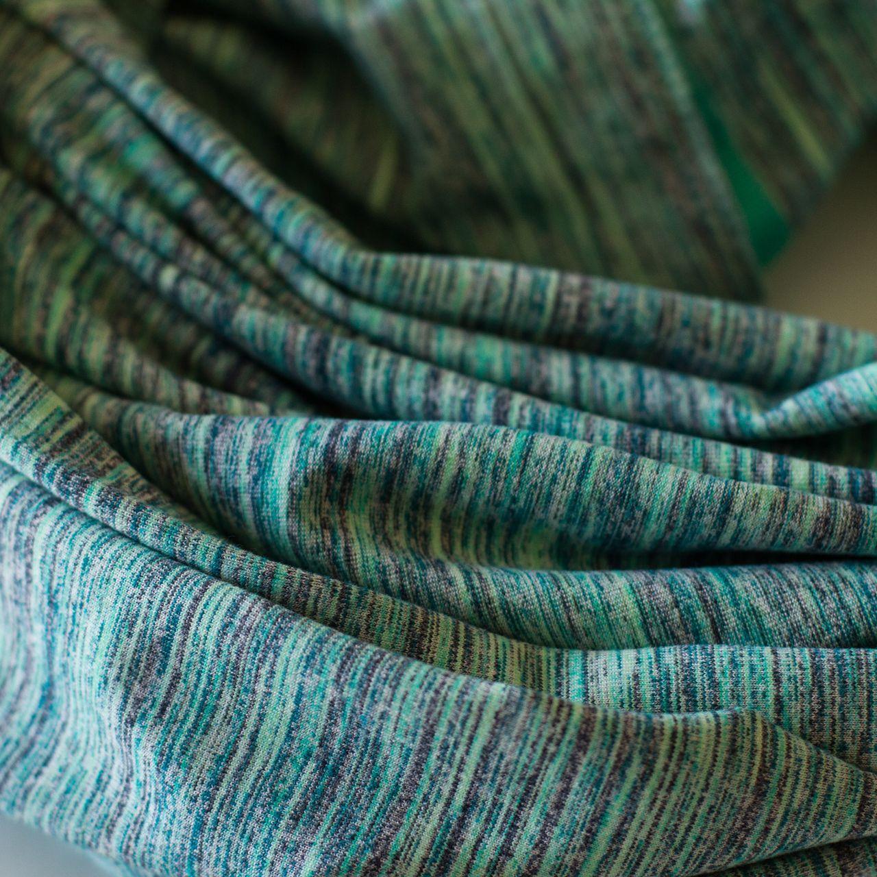 Lululemon Vinyasa Scarf *Rulu - Space Dye Camo Alberta Lake Fresh Teal