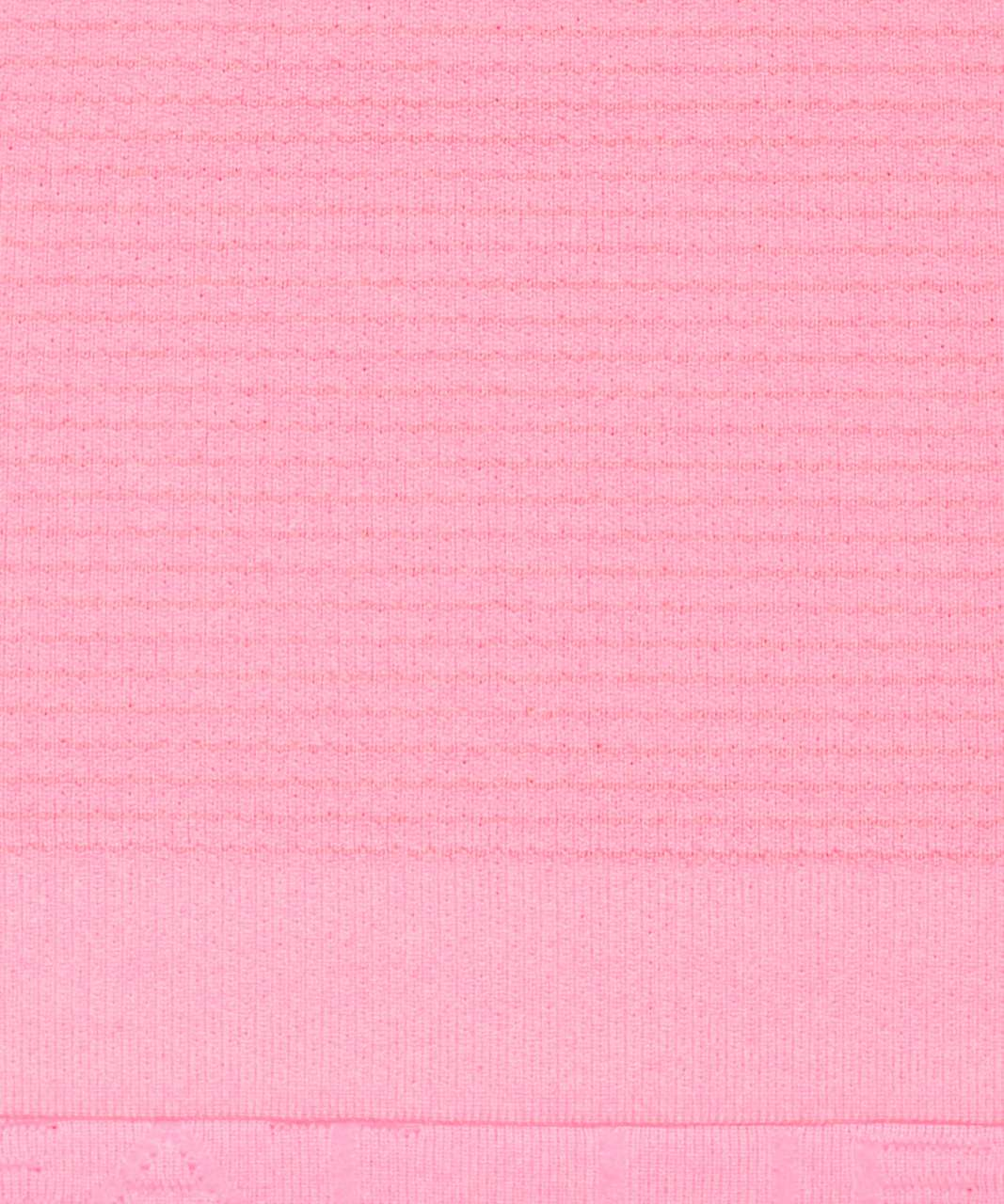 Lululemon Swiftly Tech Short Sleeve Crew - Pink Shell / White