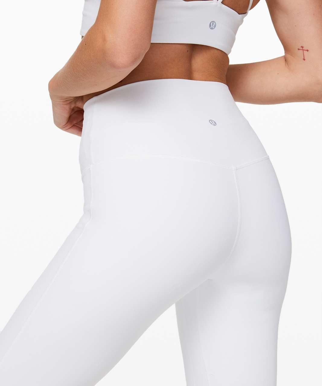 """Lululemon Align Pant 28"""" - White"""
