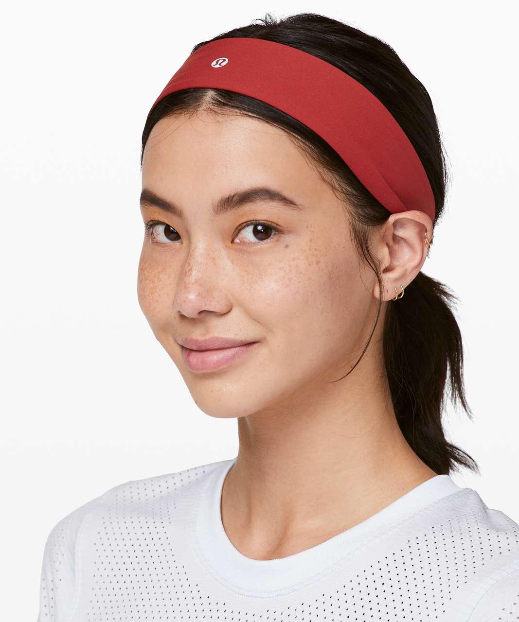 Lululemon Fly Away Tamer Headband II - Cayenne