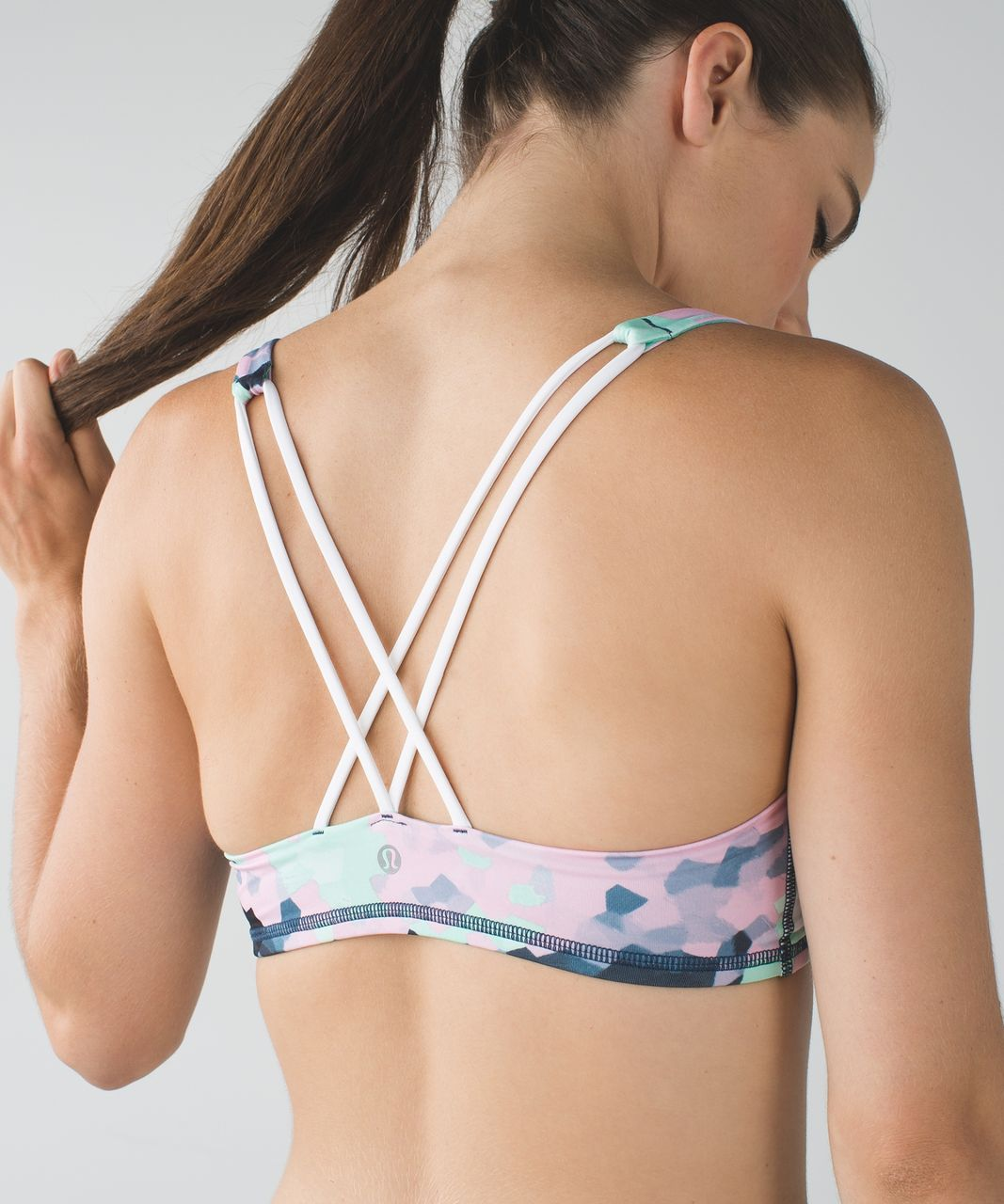 Lululemon Free To Be Bra - Clouded Dreams Multi / White