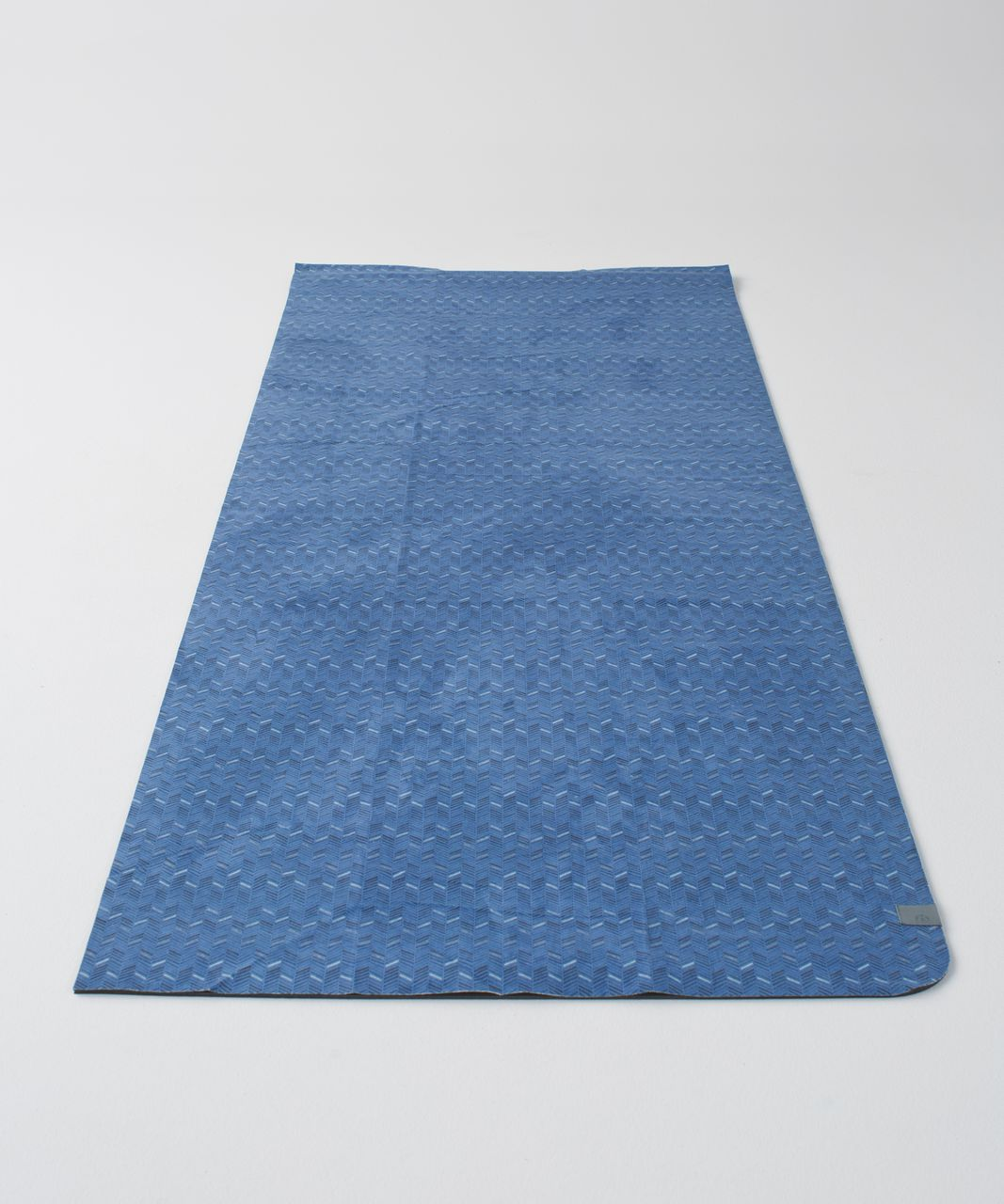 Lululemon The (Big) Towel - Small Sketchy Herringbone Lux Indigo Classic Navy