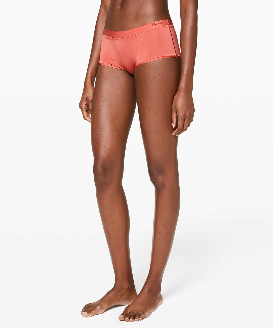Lululemon Simply There Boyshort - Rustic Coral