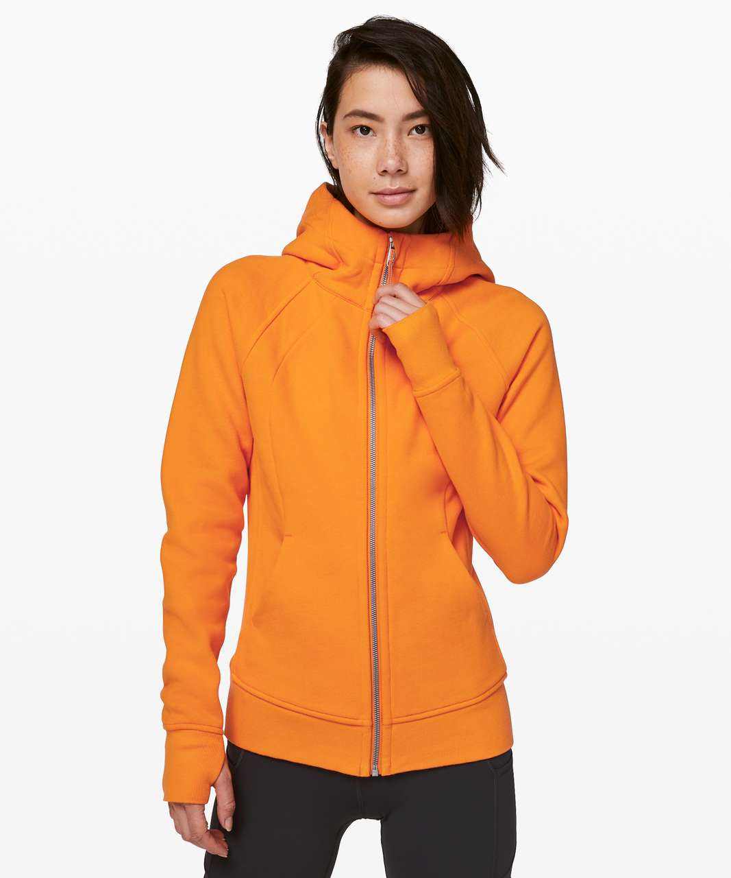 Lululemon Scuba Hoodie *Light Cotton Fleece - Vivid Amber