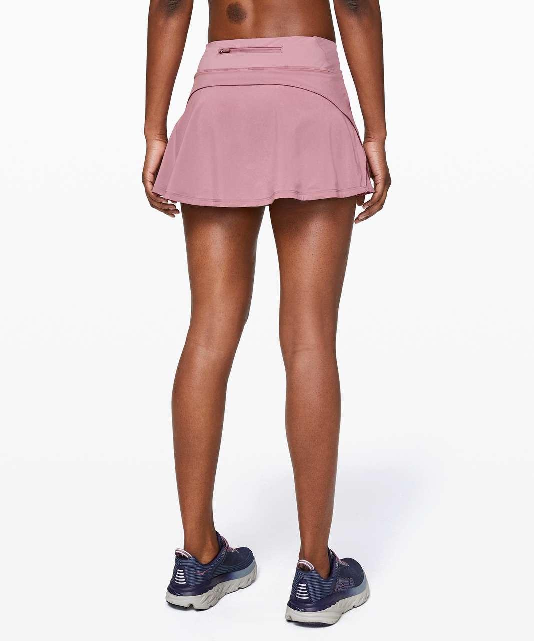 """Lululemon Play Off The Pleats Skirt *13"""" - Vintage Mauve"""