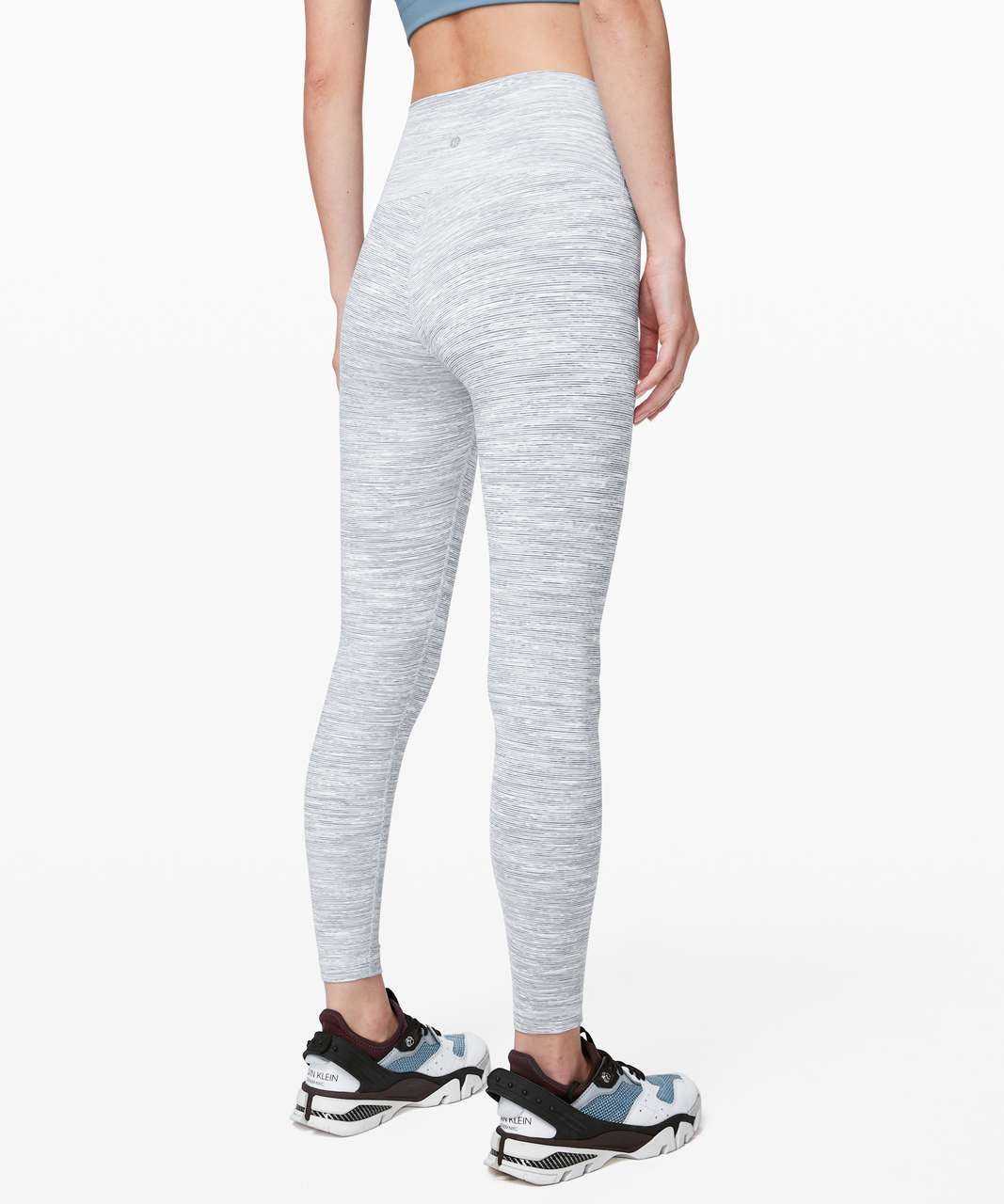 """Lululemon Wunder Under High-Rise Tight 25"""" *Luxtreme - Wee Are From Space Sheer Blue Chambray"""