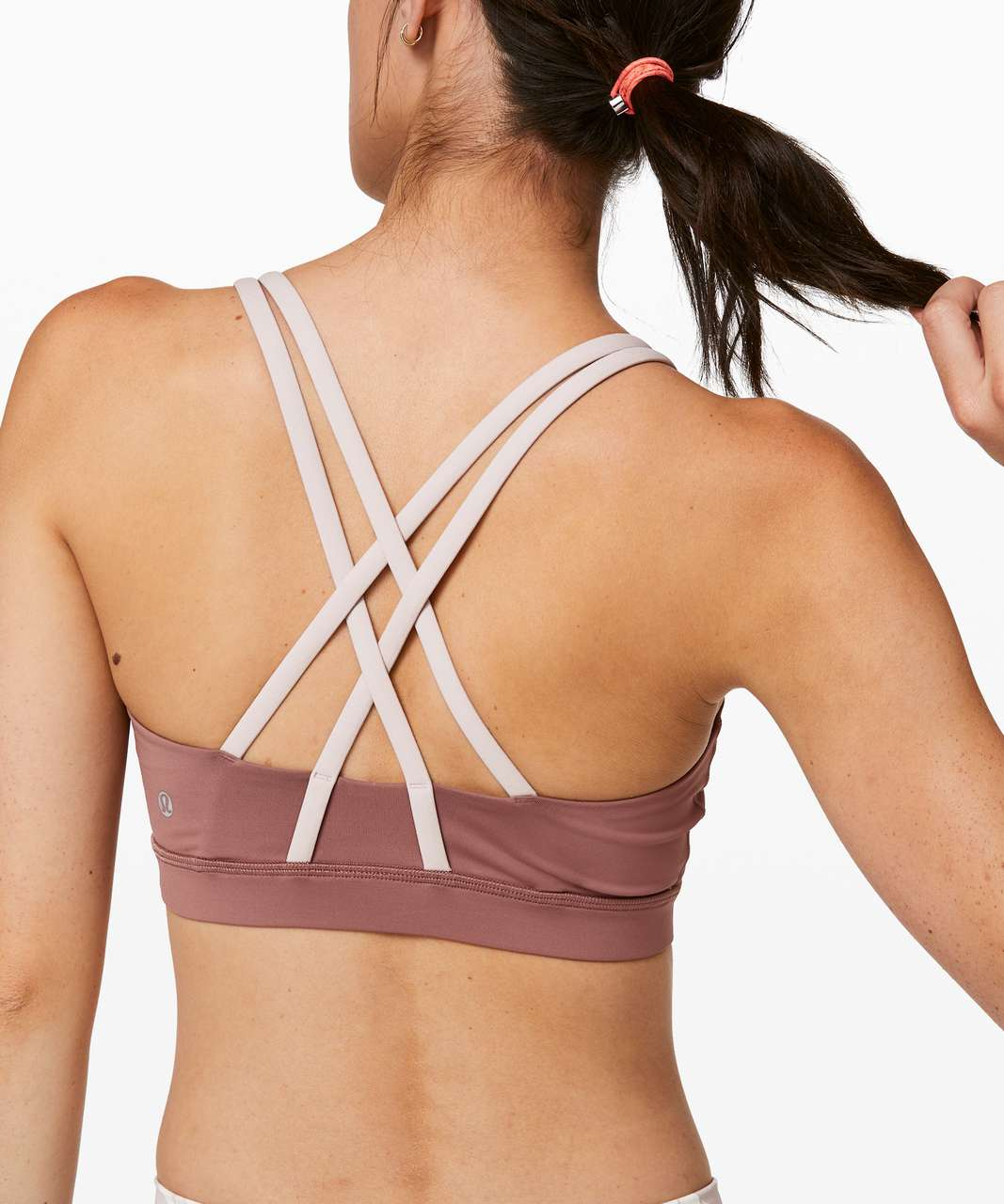 Lululemon Energy Bra - Red Dust / Muse