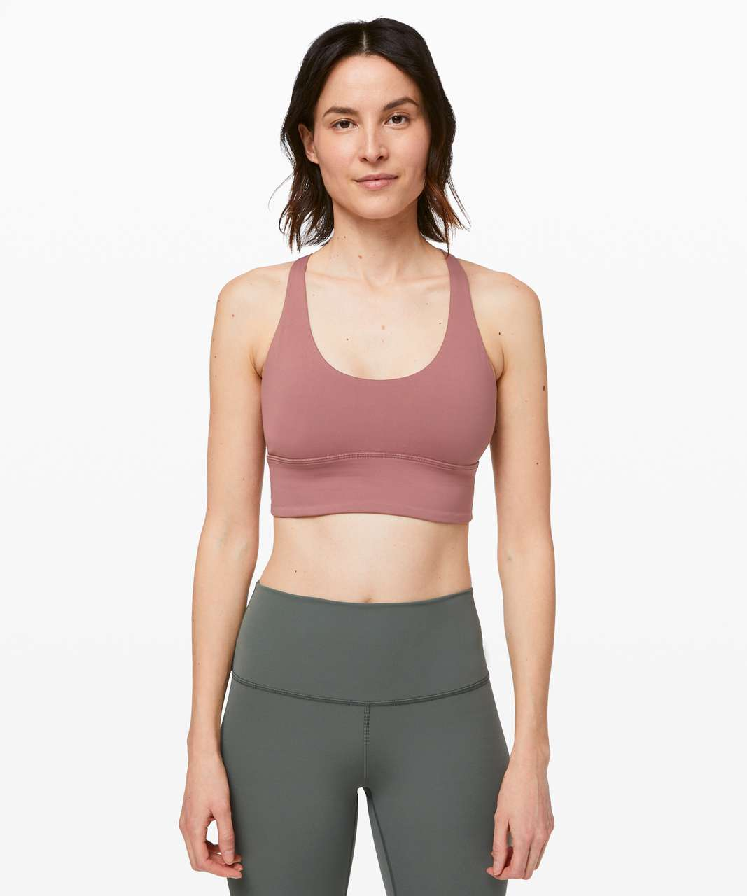 Lululemon Free To Be Moved Bra - Red Dust