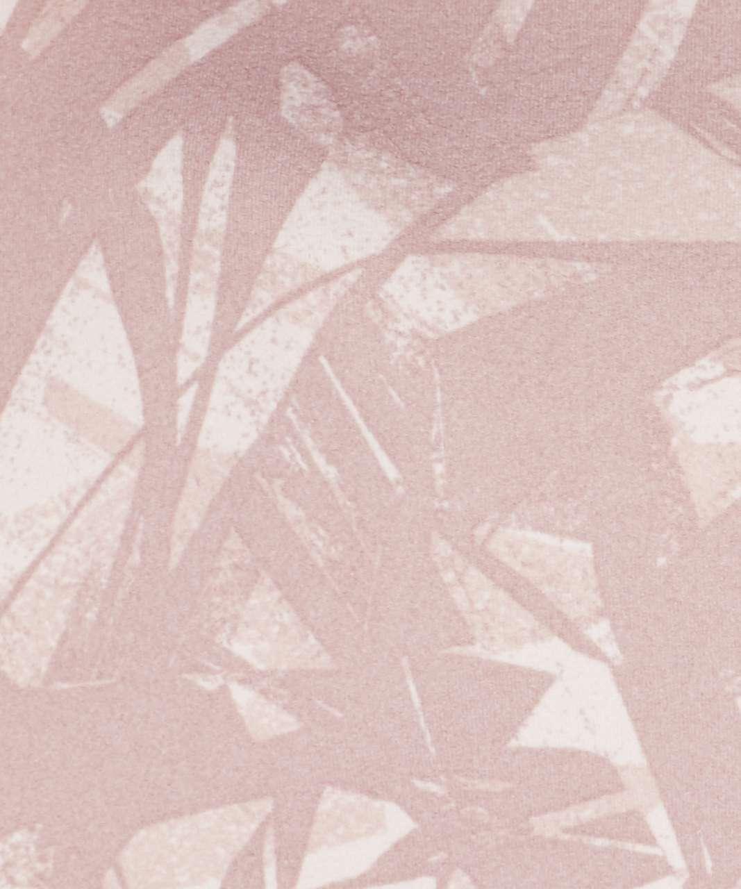 Lululemon Flow Y Bra *Nulu - Shadow Leaf Light Ivory Muse