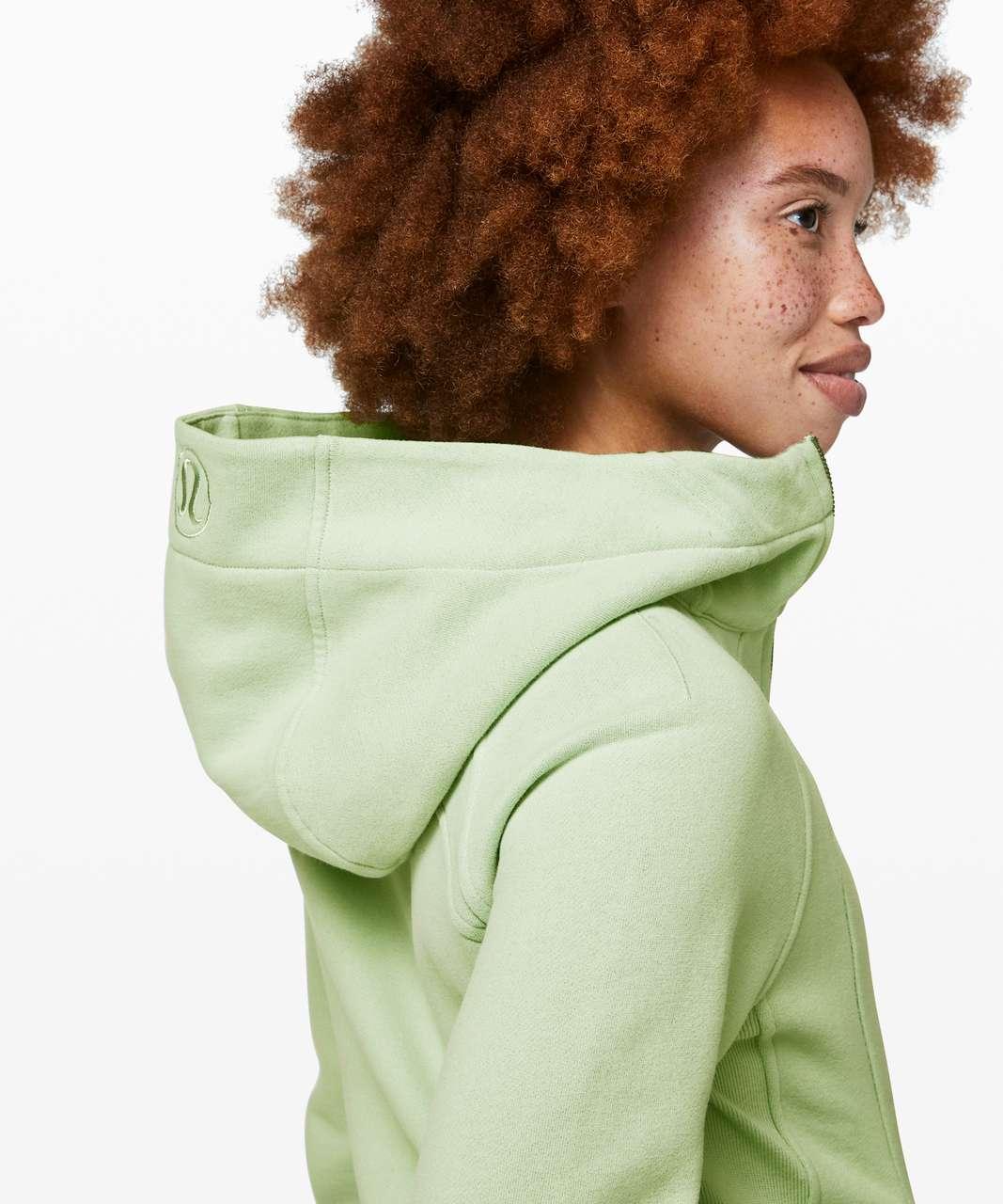 Lululemon Scuba Hoodie *Light Cotton Fleece - Mystic Mint
