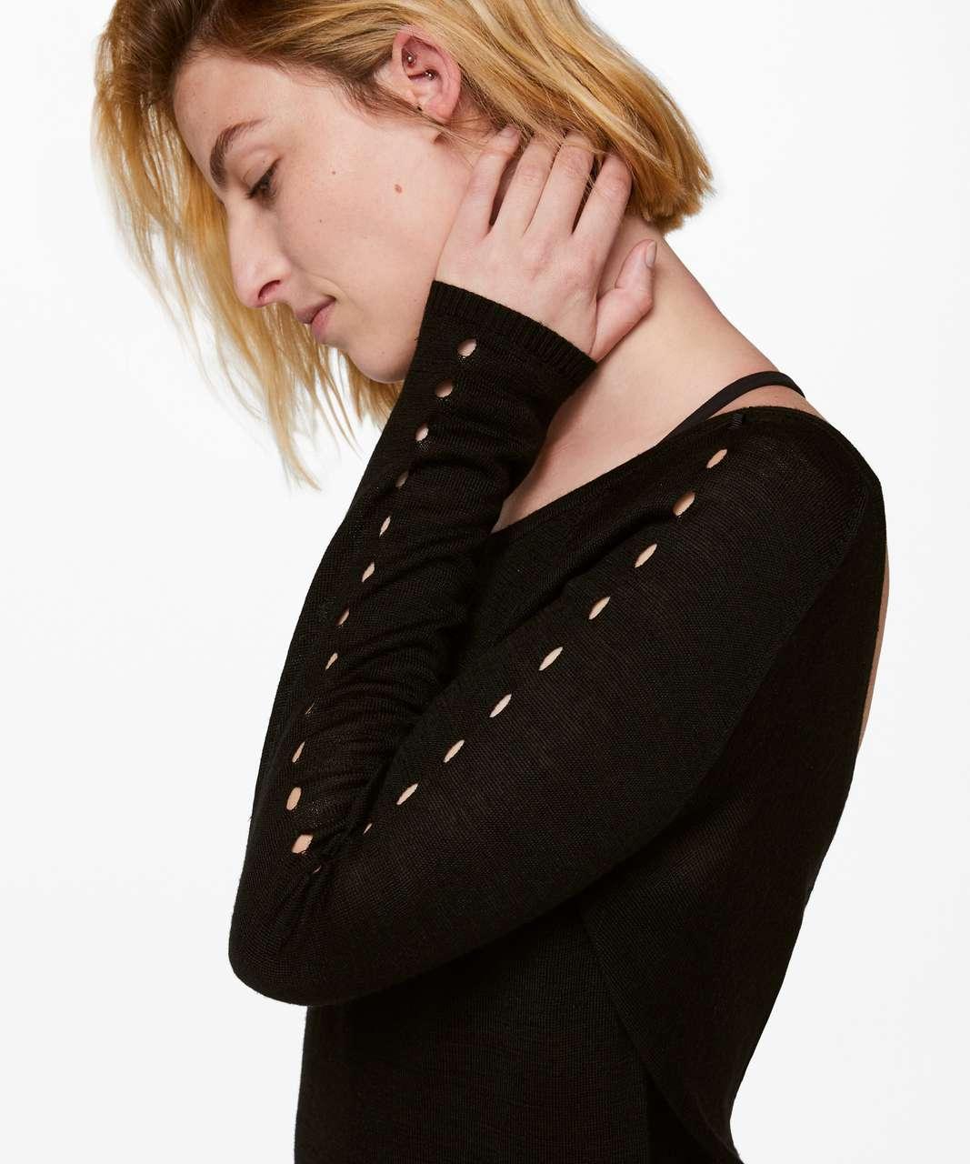 Lululemon Mix and Mingle Pullover - Black