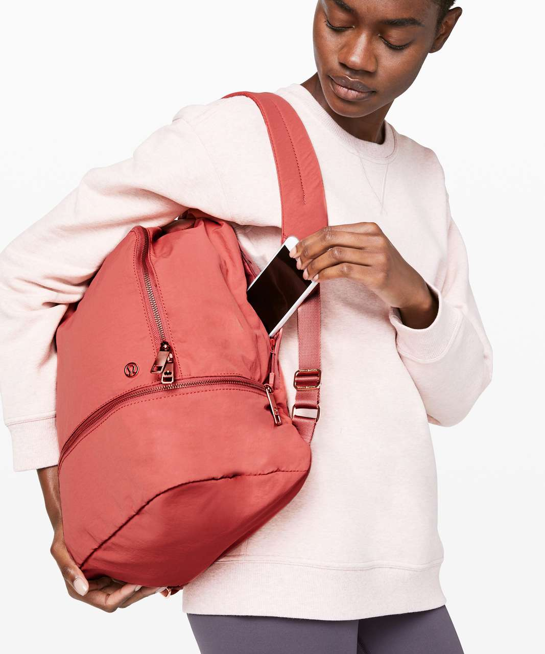 Lululemon City Adventurer Backpack *17L - Rustic Coral