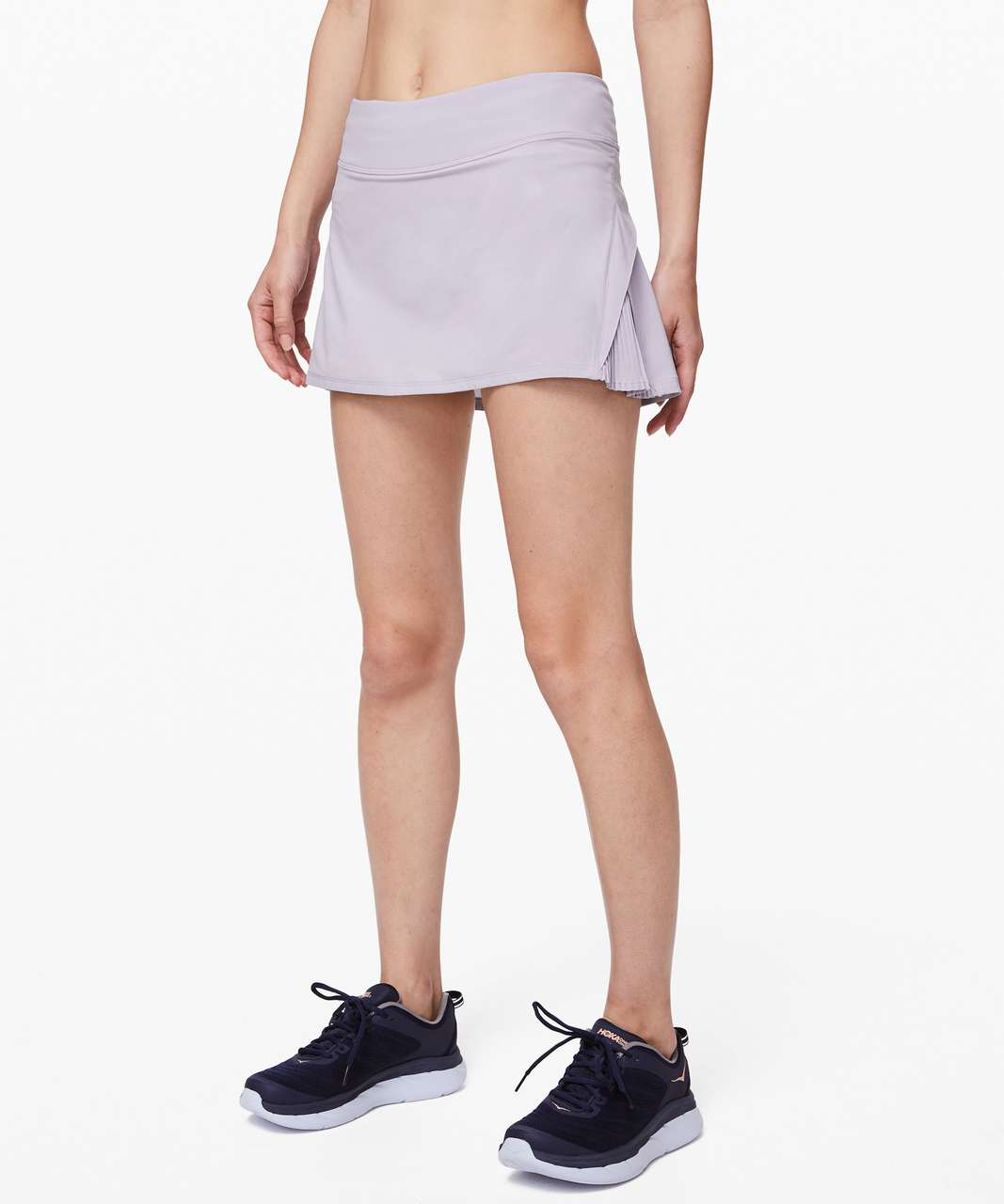 """Lululemon Play Off The Pleats Skirt *13"""" - Silver Lilac"""
