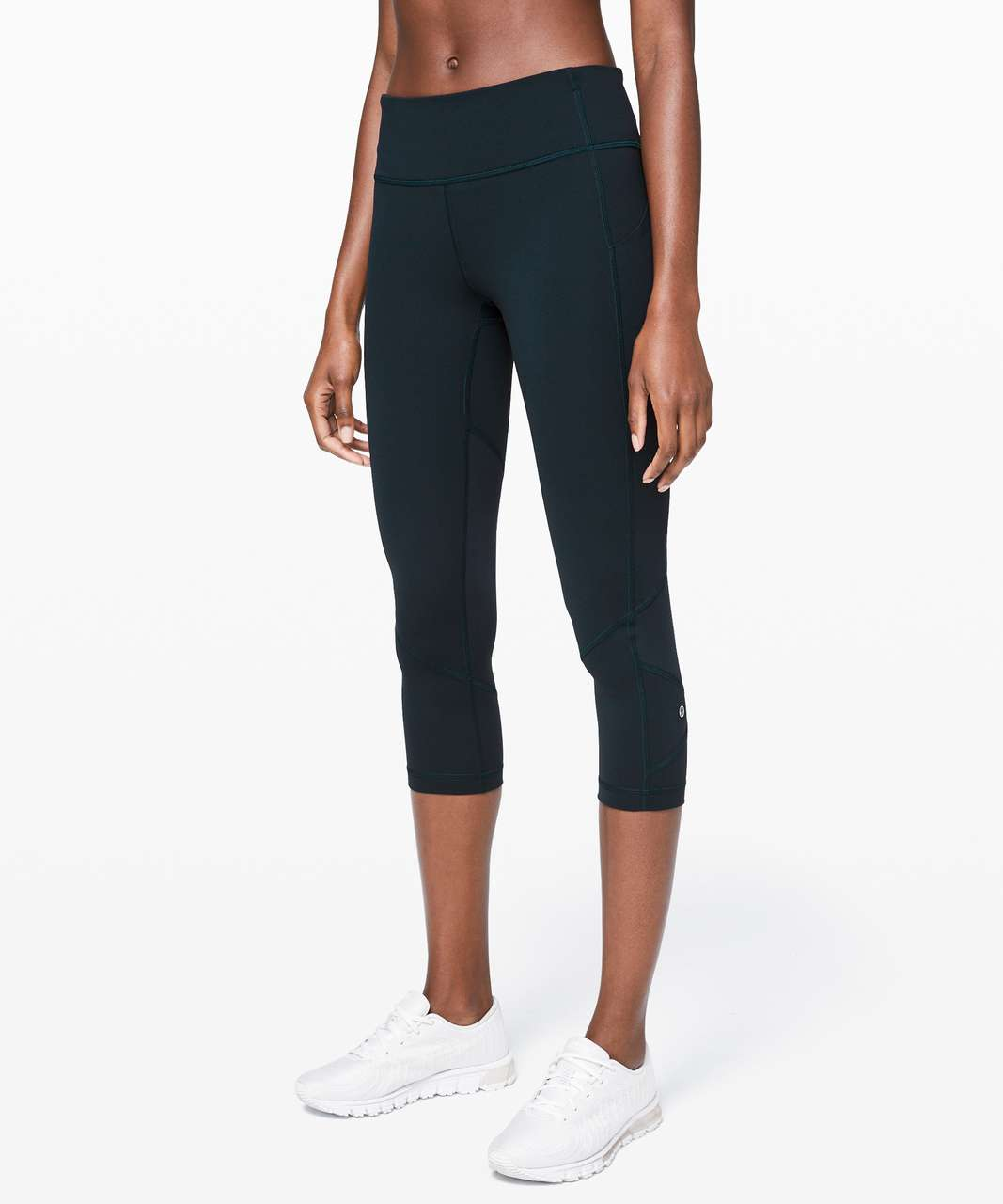 "Lululemon Pace Rival Crop *22"" - Nocturnal Teal"