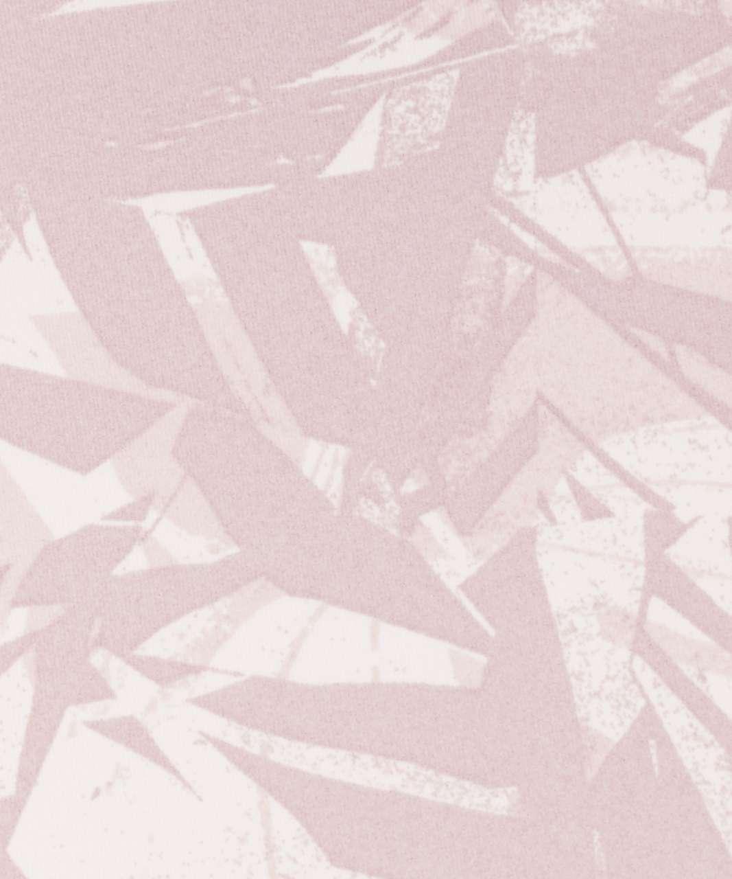"Lululemon Wunder Under Crop (High-Rise) *Full-On Luxtreme 21"" - Shadow Leaf Light Ivory Muse / Light Ivory"