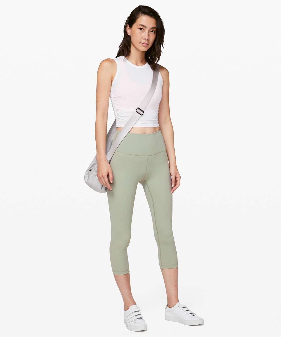 "Lululemon Wunder Under Crop (High-Rise) *Full-On Luxtreme 21"" - Sea Moss"