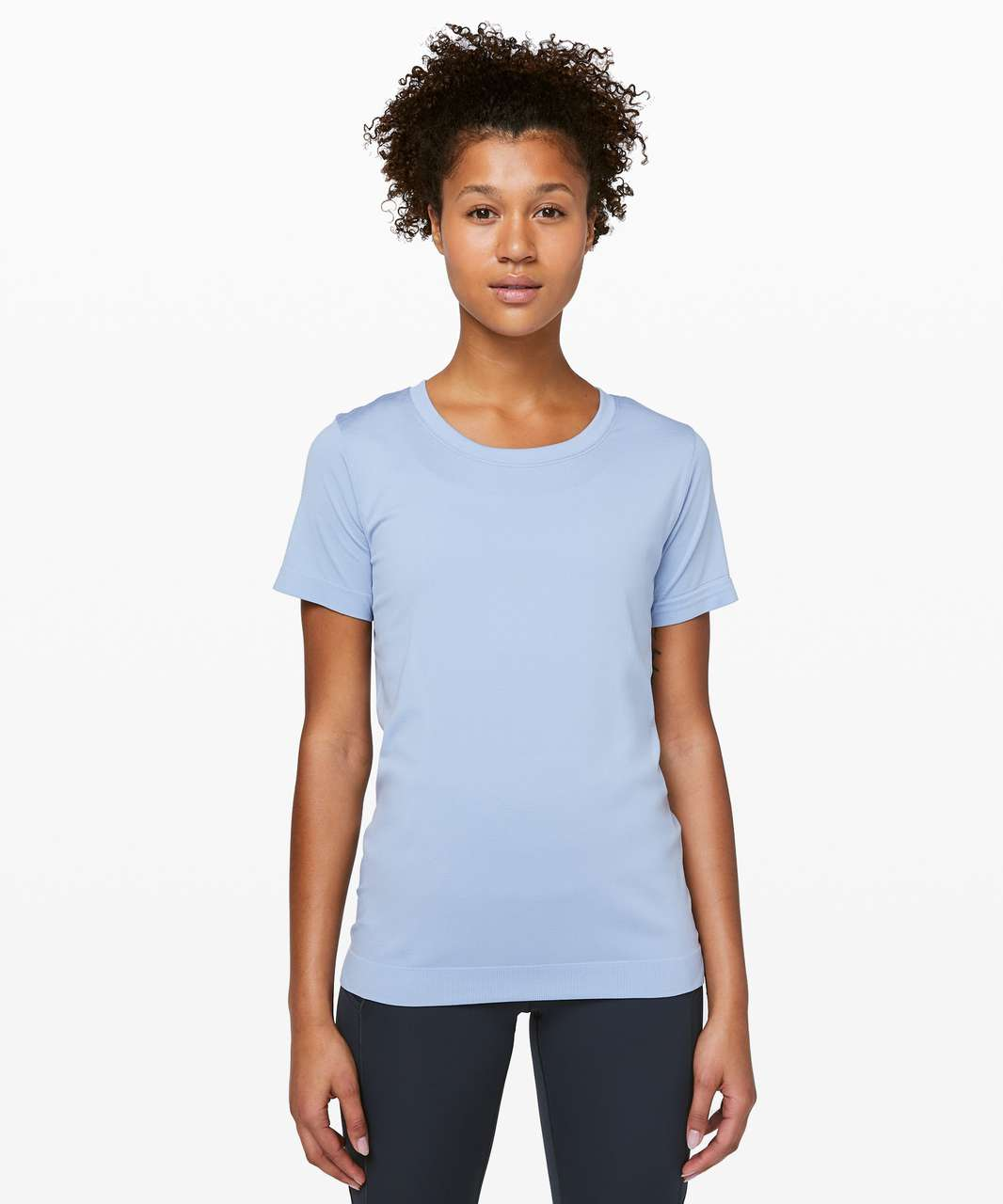 Lululemon Swiftly Tech Short Sleeve (Breeze) *Relaxed Fit - Ice Cap / Ice Cap