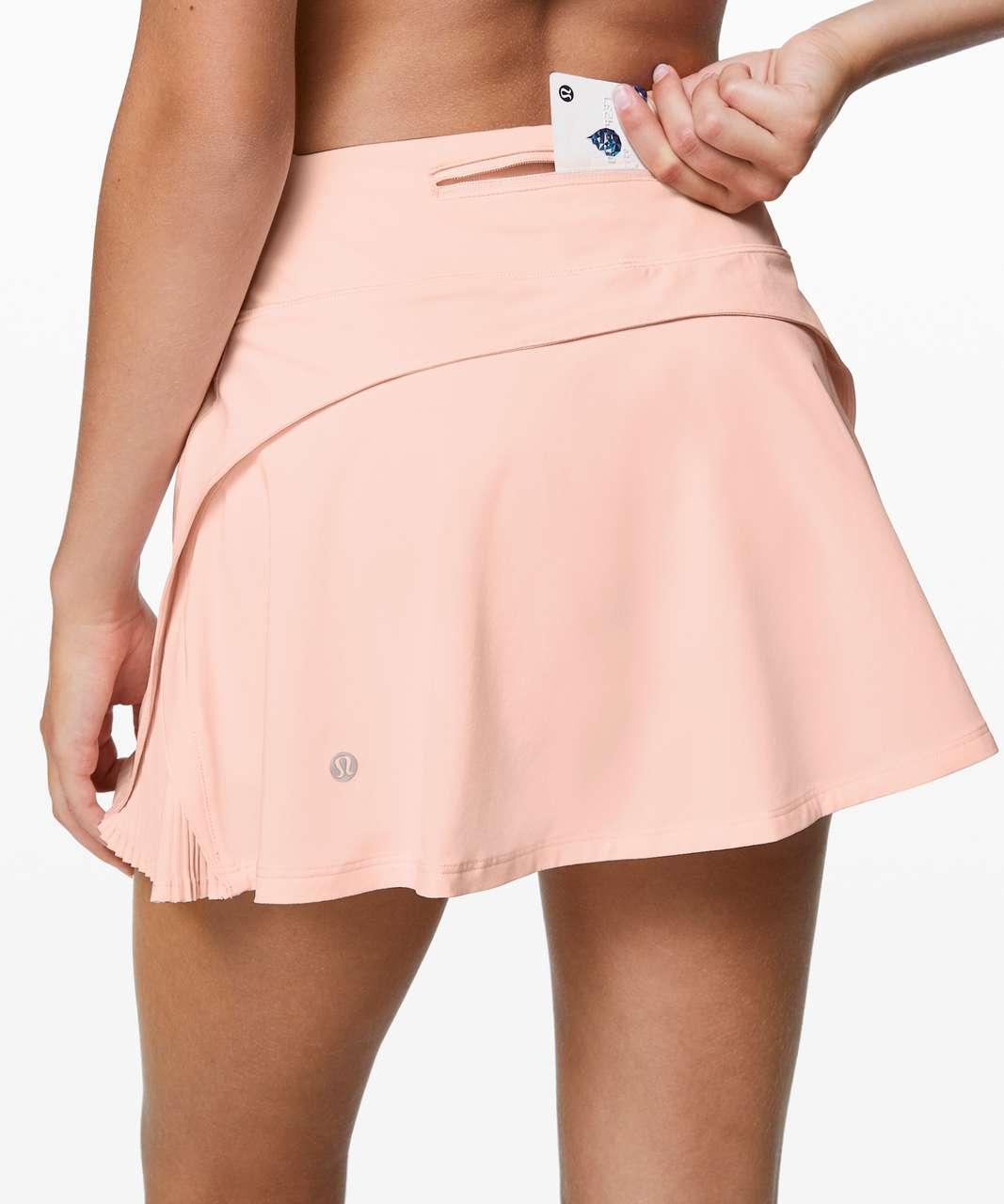 """Lululemon Play Off The Pleats Skirt *13"""" - Butter Pink"""