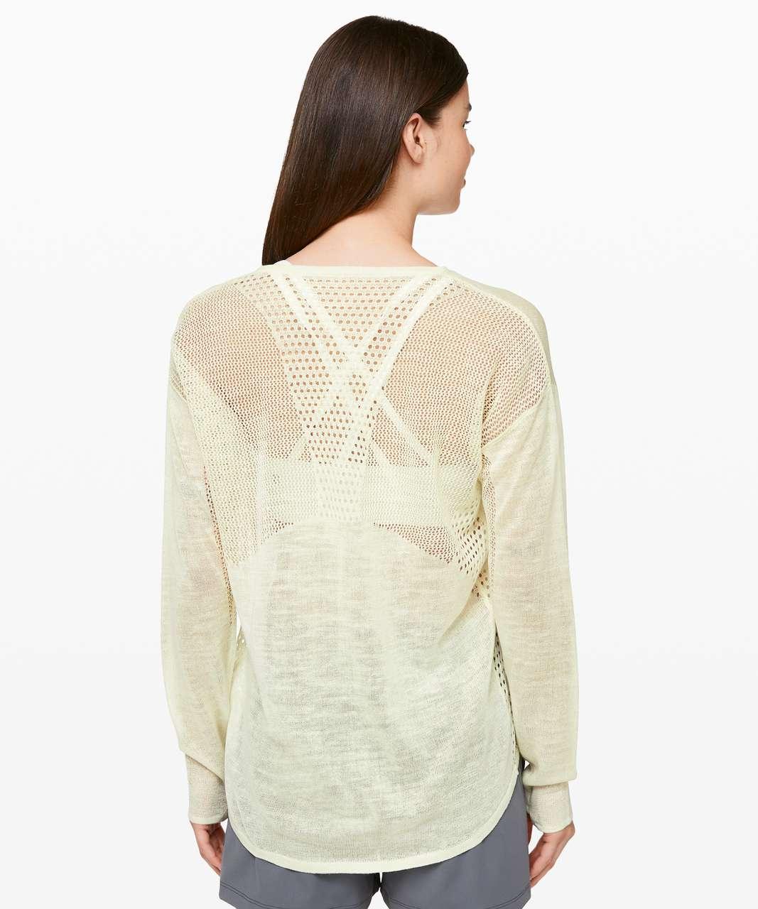 Lululemon Still Movement Sweater *Linen - Elixir