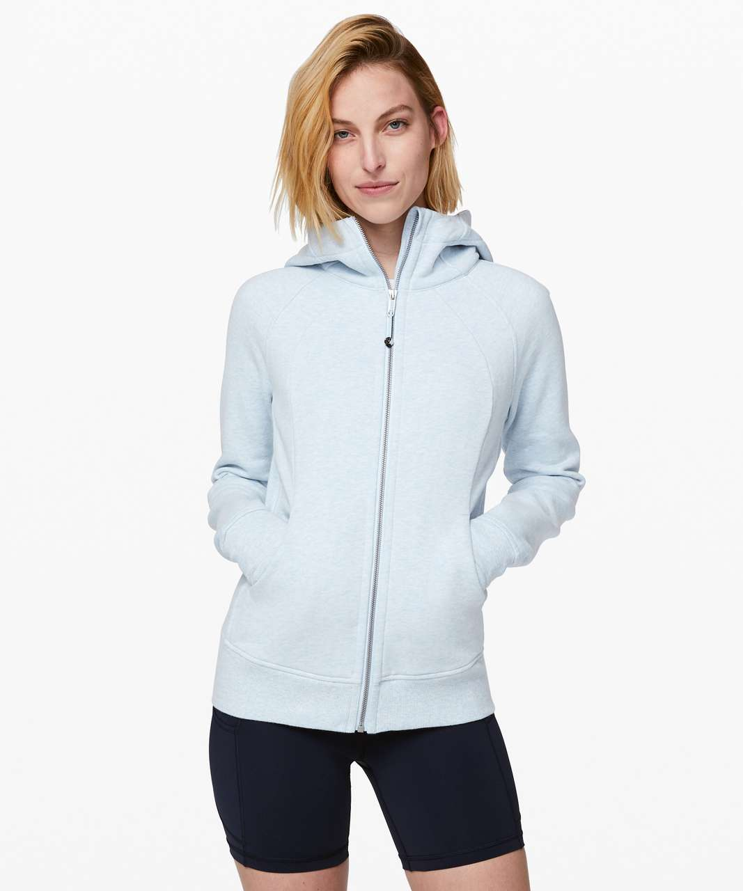 Lululemon Scuba Hoodie *Light Cotton Fleece - Heathered Breezy