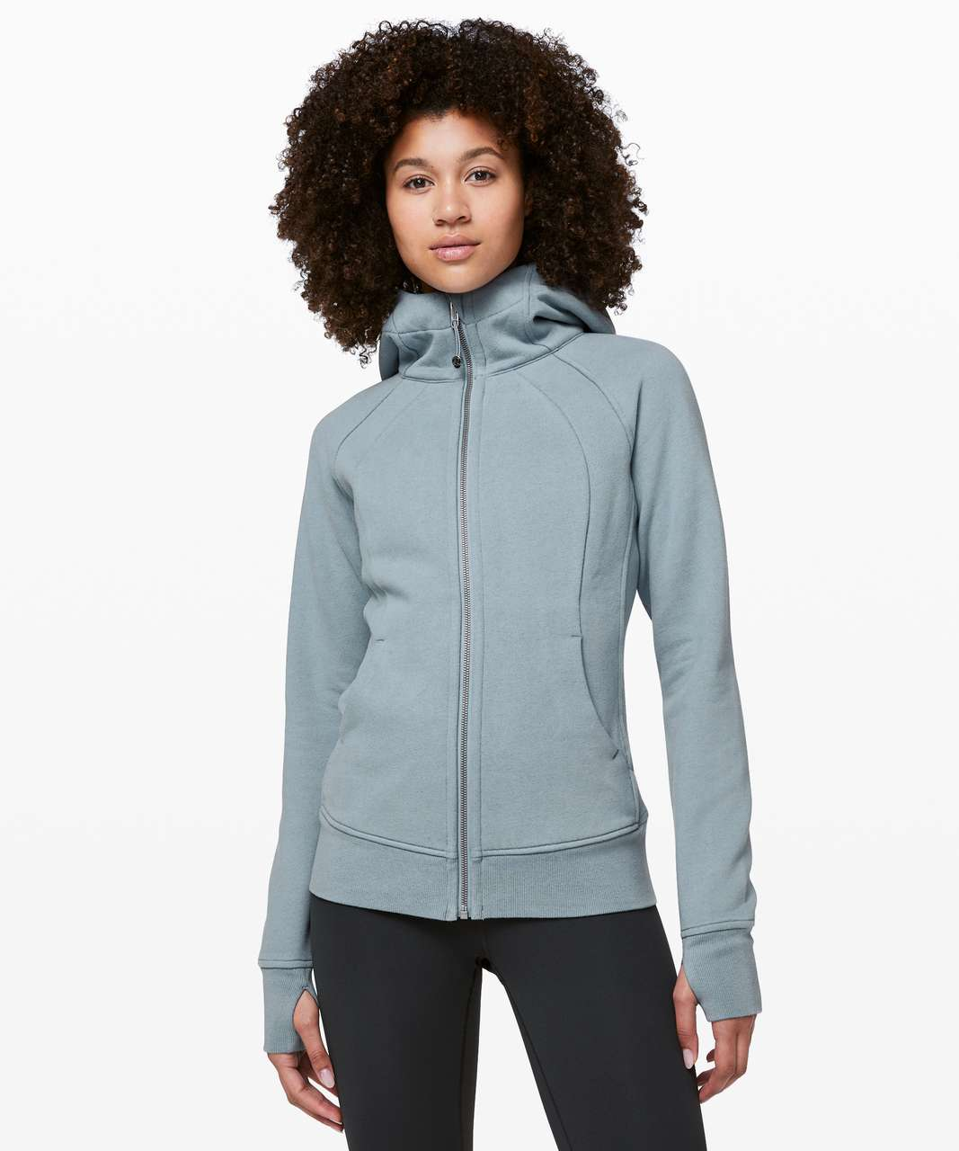 Lululemon Scuba Hoodie *Light Cotton Fleece - Chambray