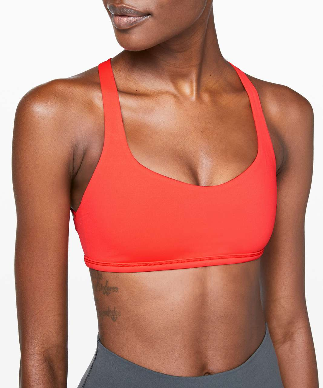 Lululemon Free To Be Bra (Wild) - Hot Sunset